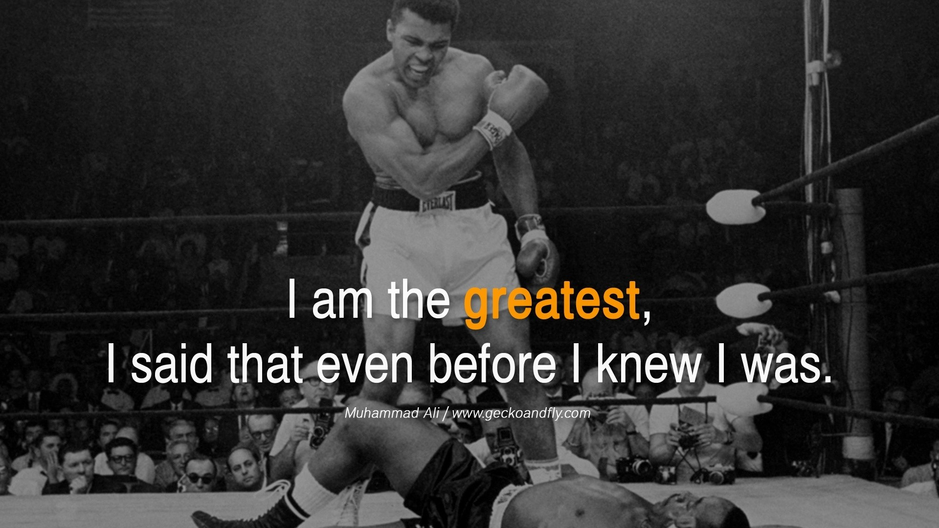 Muhammad Ali Visualizing Success