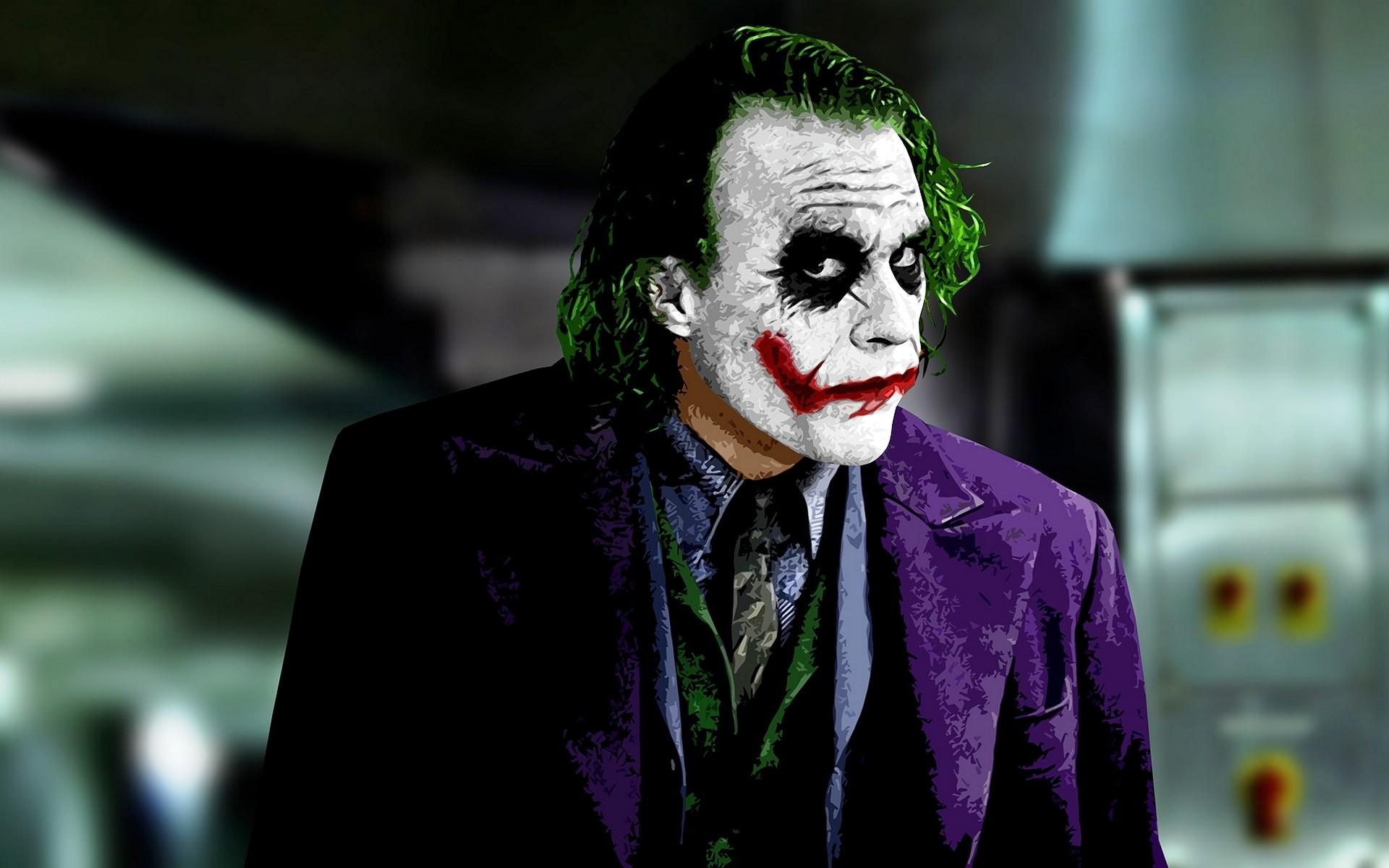The Joker Widescreen Wallpaper 1920×1200