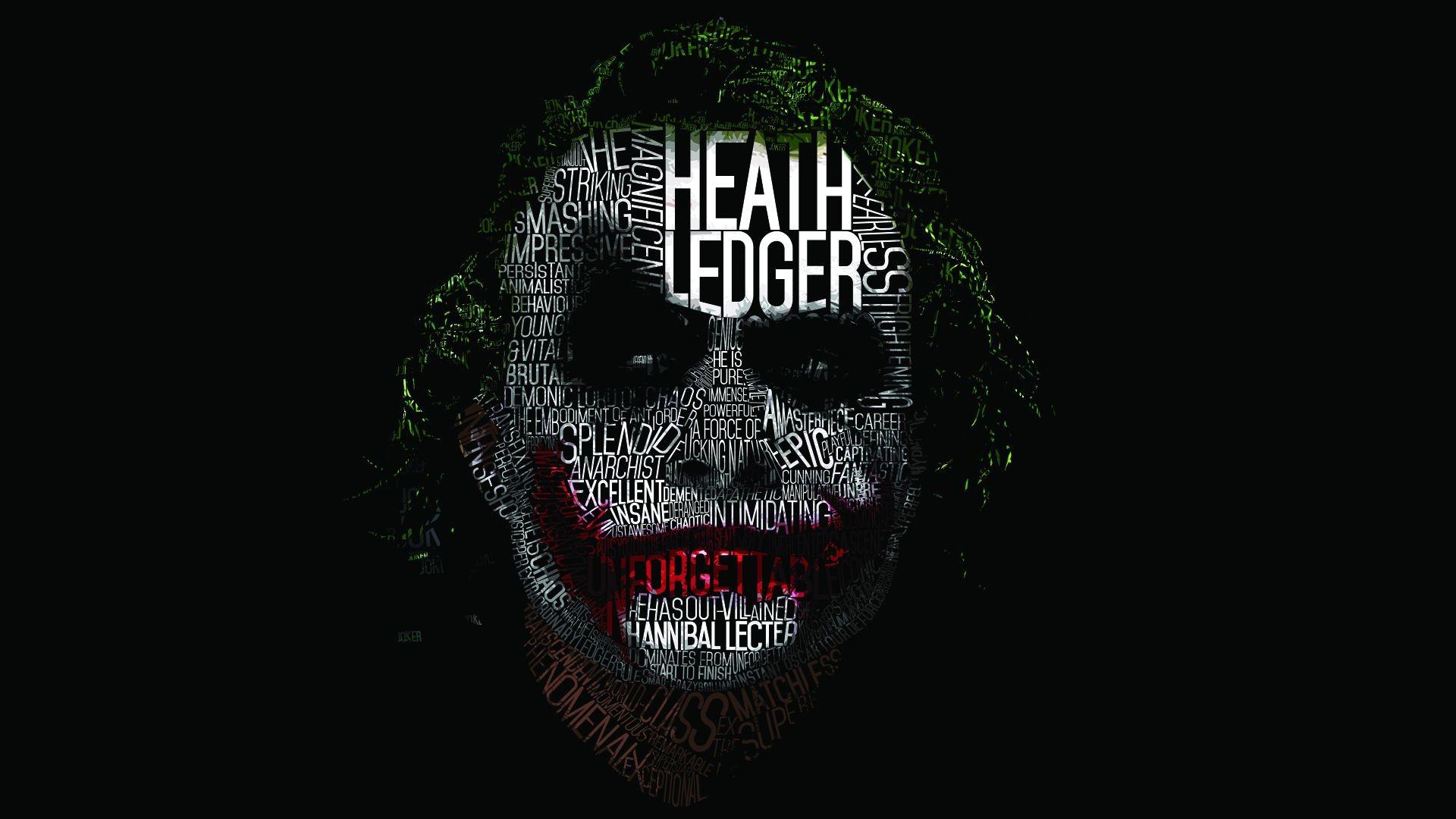 Heath Ledger Joker Wallpaper HD