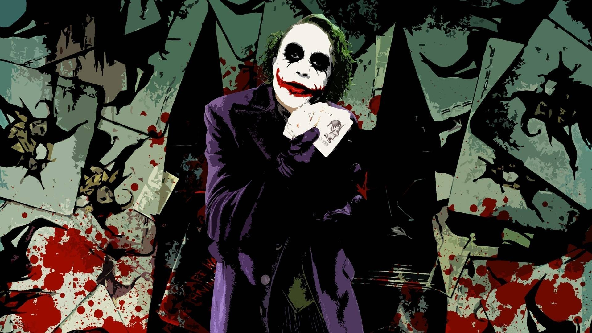 the joker wallpaper HD Download 1600×1200 The Joker Wallpaper (54 Wallpapers)  |