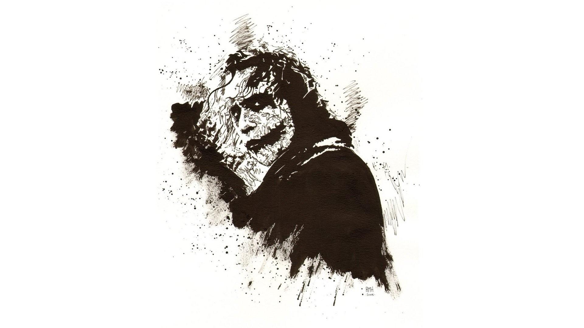 Abstract Fan Art Heath Ledger Movies The Dark Knight Joker