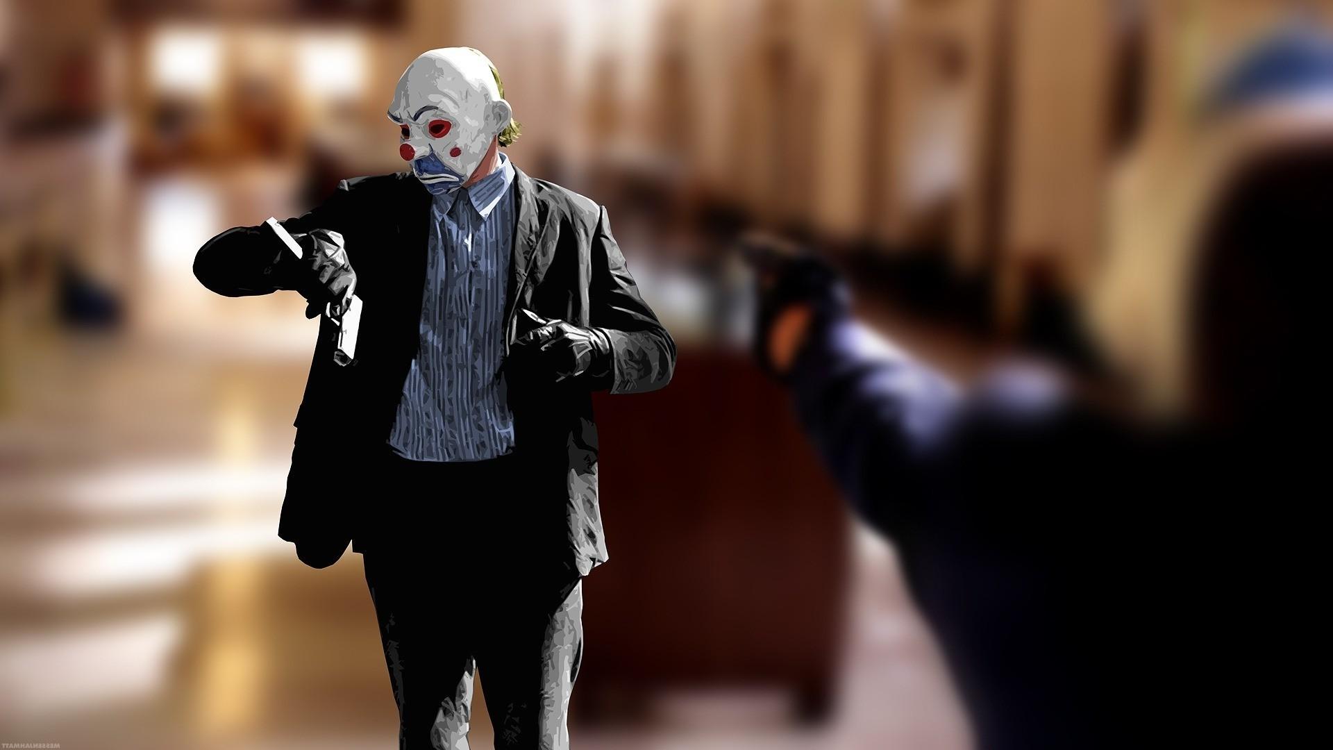Batman, The Dark Knight, Clowns, MessenjahMatt Wallpapers HD / Desktop and  Mobile Backgrounds