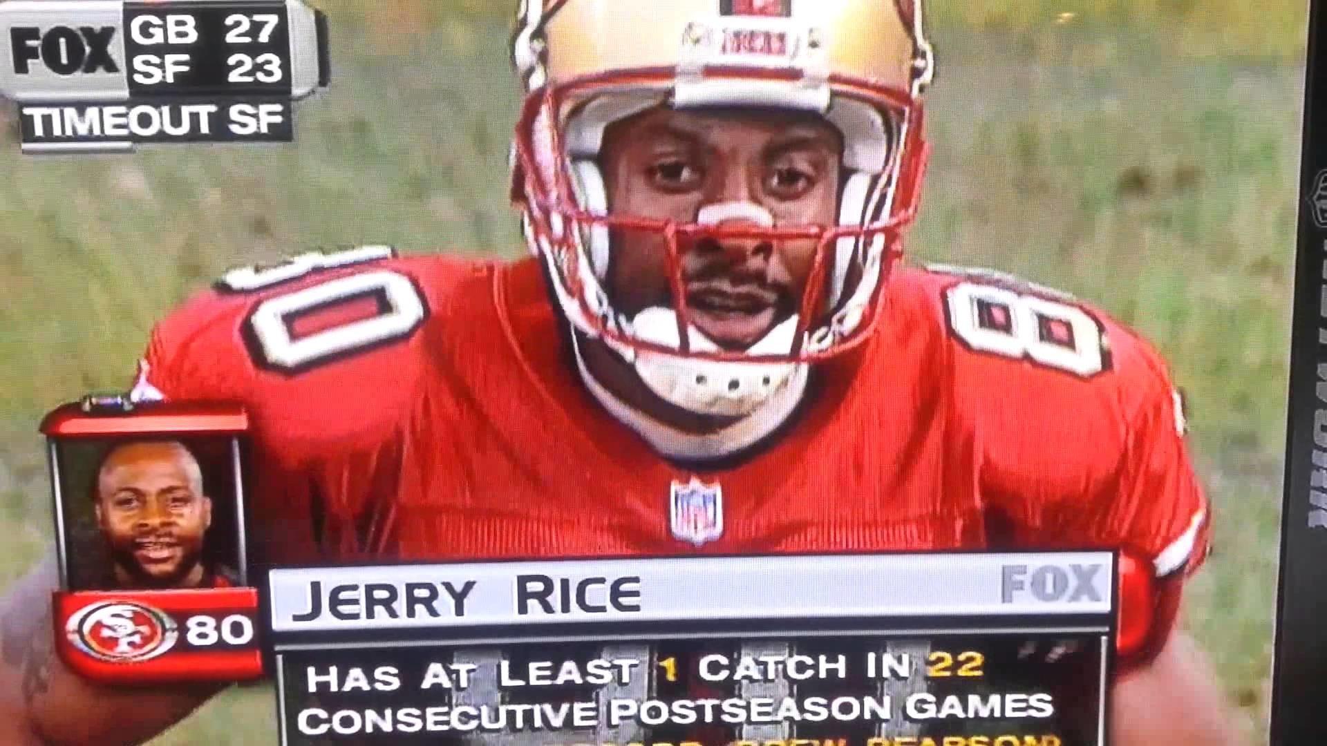 Jerry Rice still fumbled