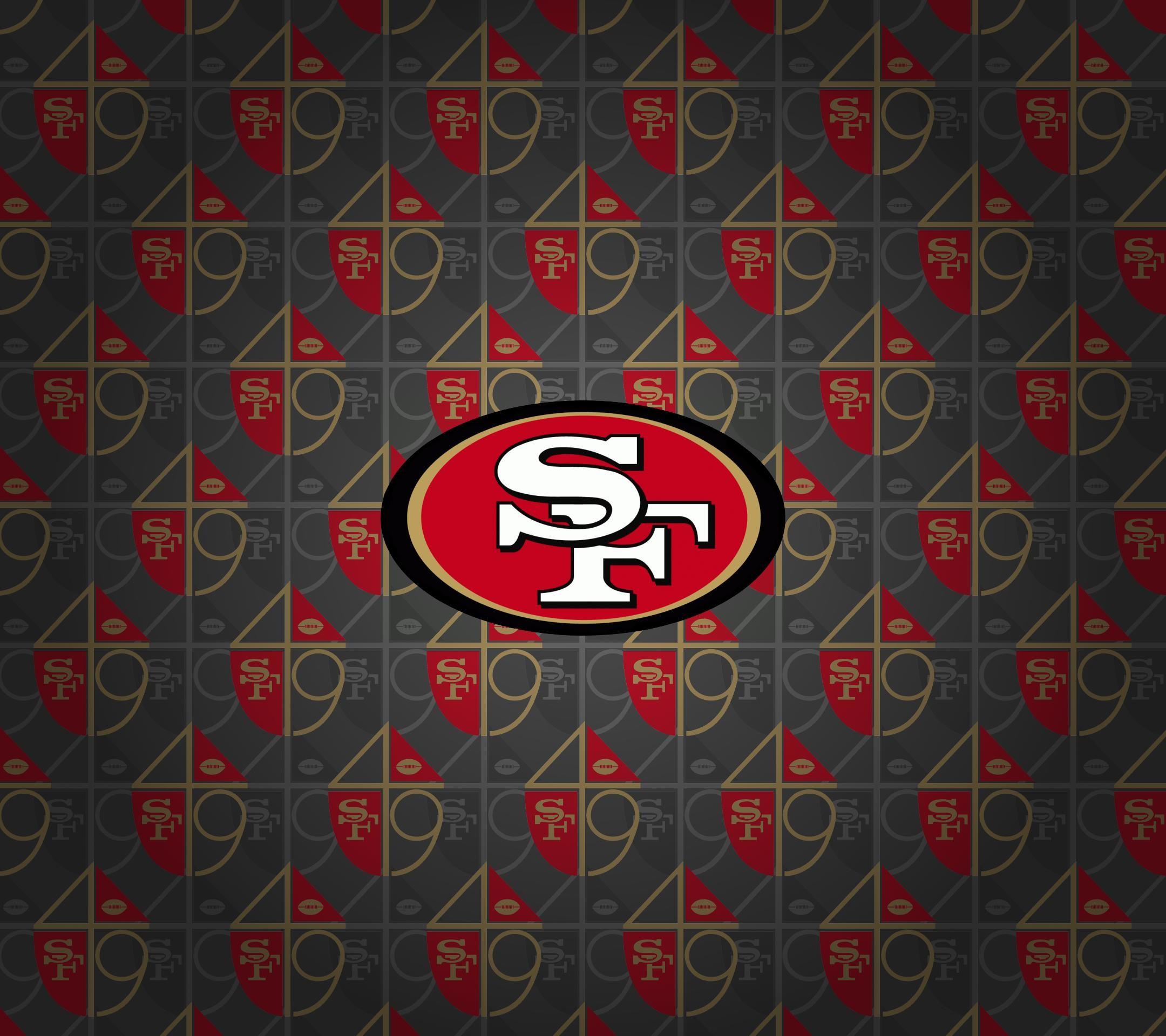 San Francisco 49ers Logo HD Wallpaper.