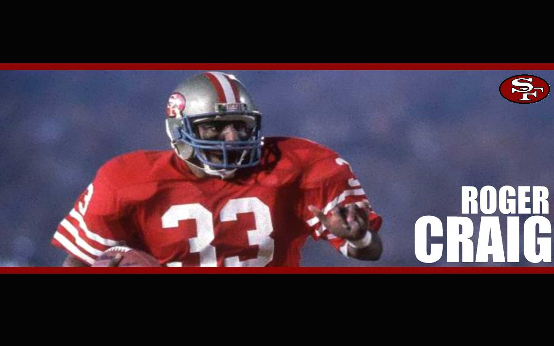 Roger Craig SF 49ers Wallpapers.