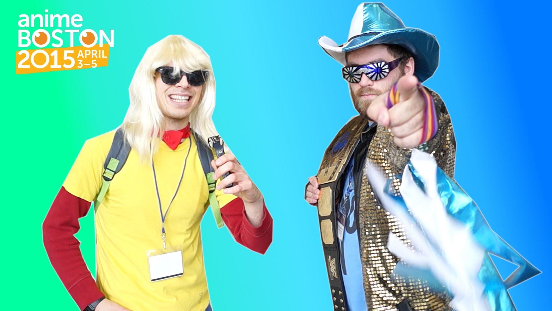 Macho Man Randy Savage Anime Boston 2015 Cosplay Interview!!
