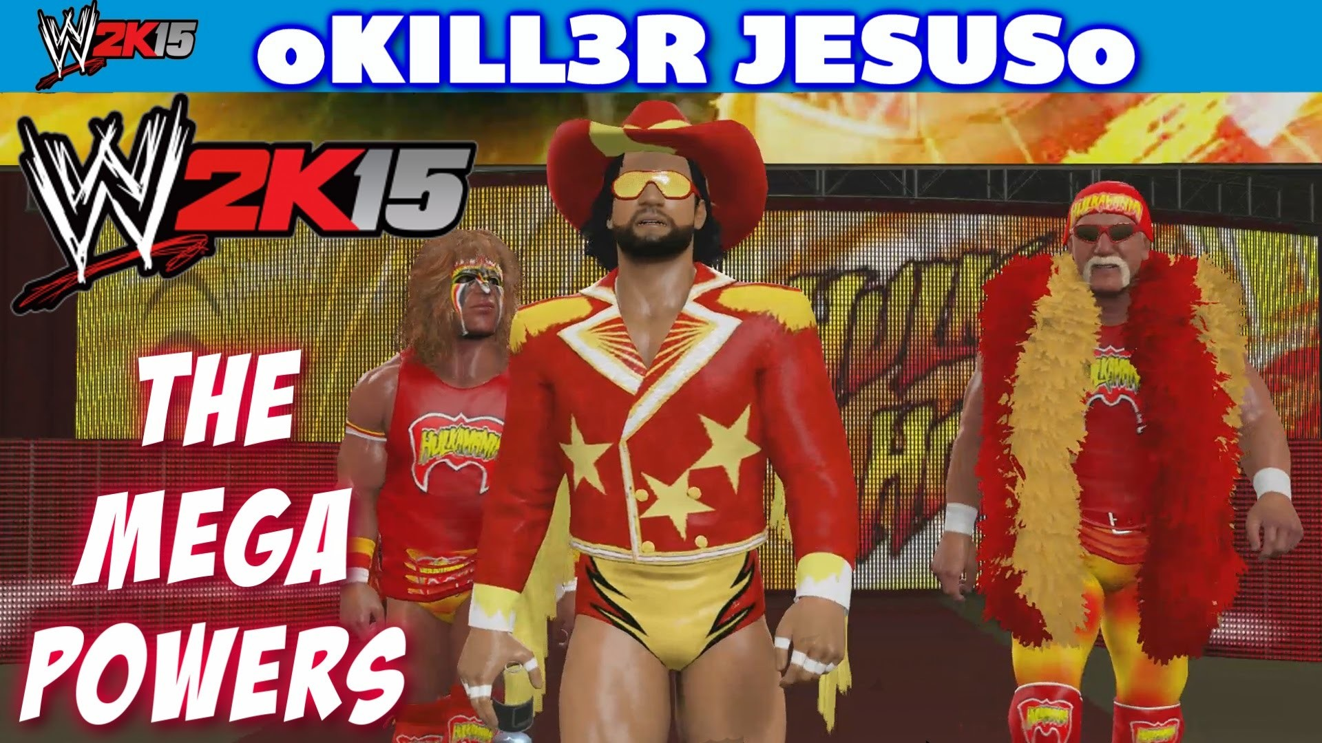 WWE 2K15 The Mega Powers – Hulk Hogan Ultimate Warrior Macho Man I PS4 XBOX  ONE – YouTube