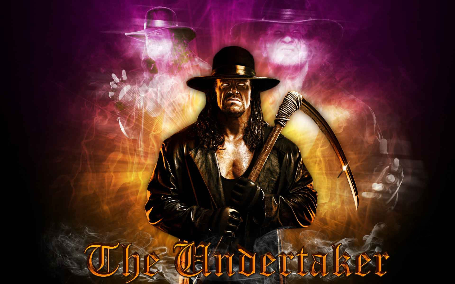 The Man from the Darkside, The Dead Man, The Phenom, The Undertaker!