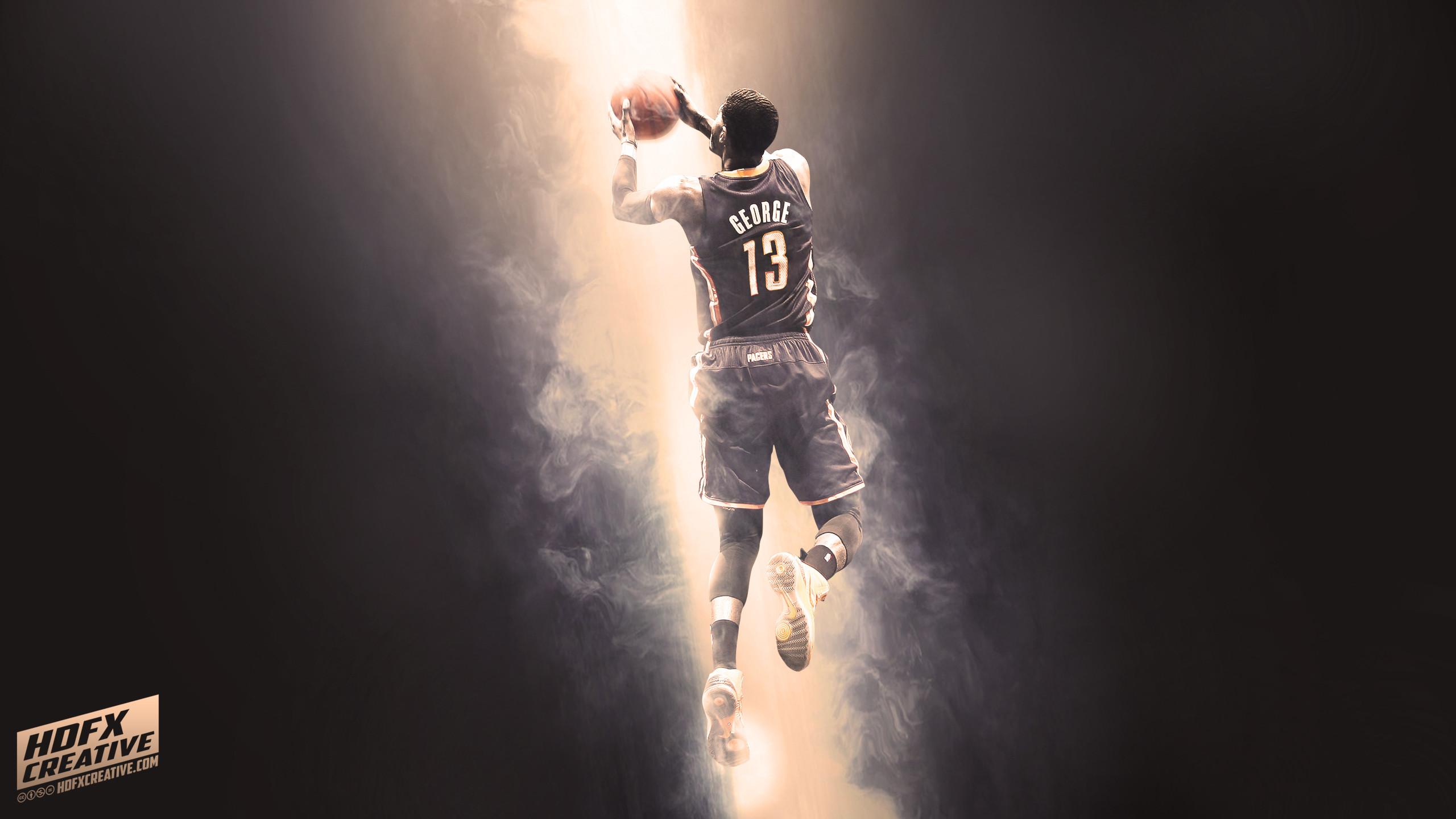 Paul George NBA Wallpaper by skythlee on DeviantArt