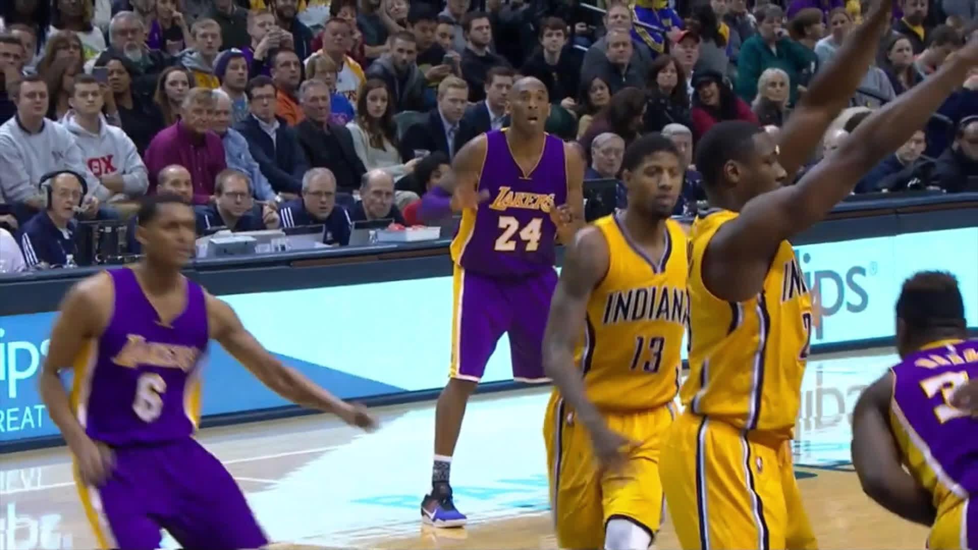 Paul George on Kobe Bryant: 'He is Old' (VIDEO)