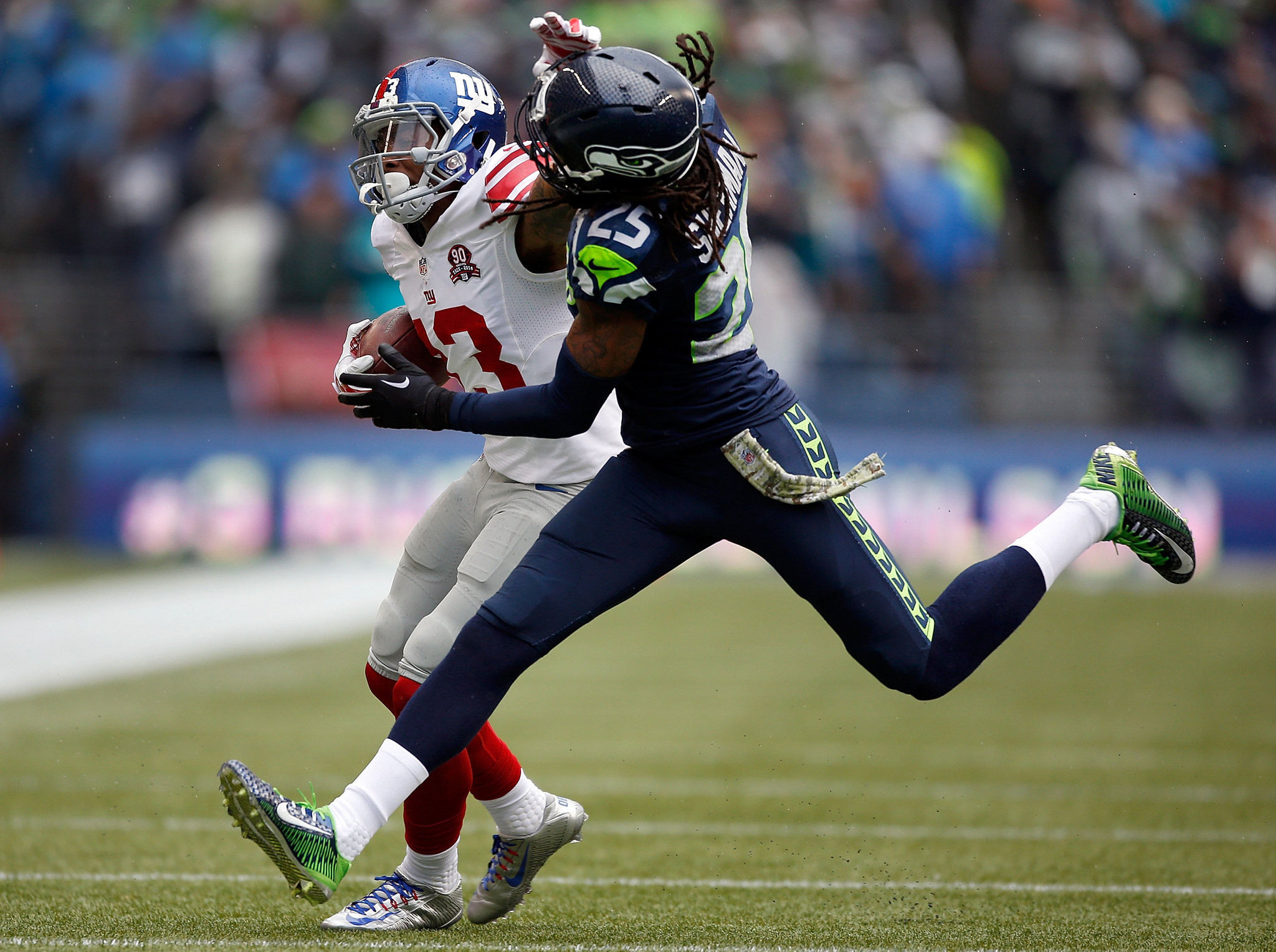 Odell Beckham Jr. dominates Richard Sherman in Giants' loss to the Seattle  Seahawks   The good, bad and the ugly   NJ.com
