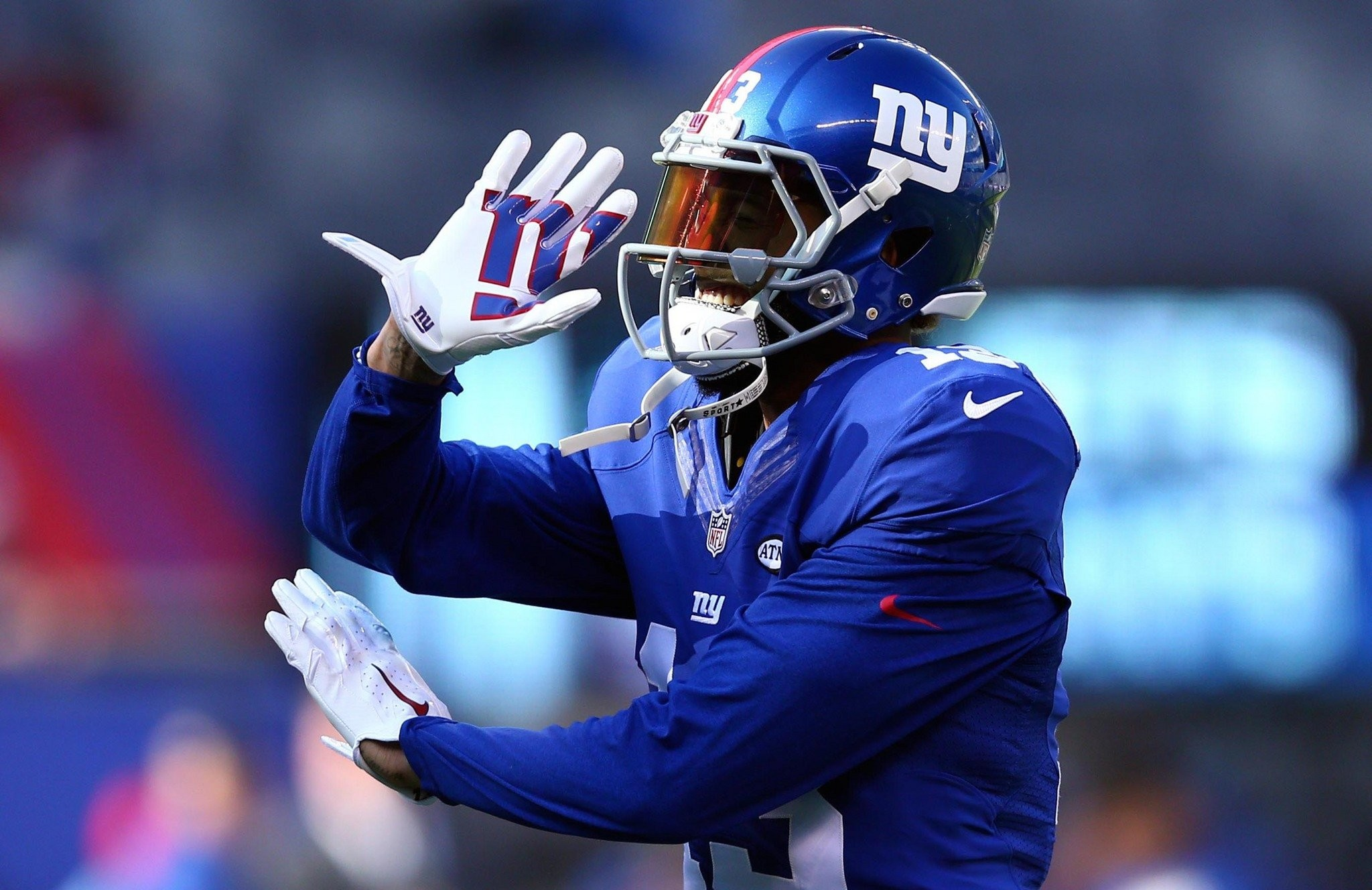 WATCH: Giants' Odell Beckham Jr. makes another sick 1-handed catch vs. Jets    NJ.com
