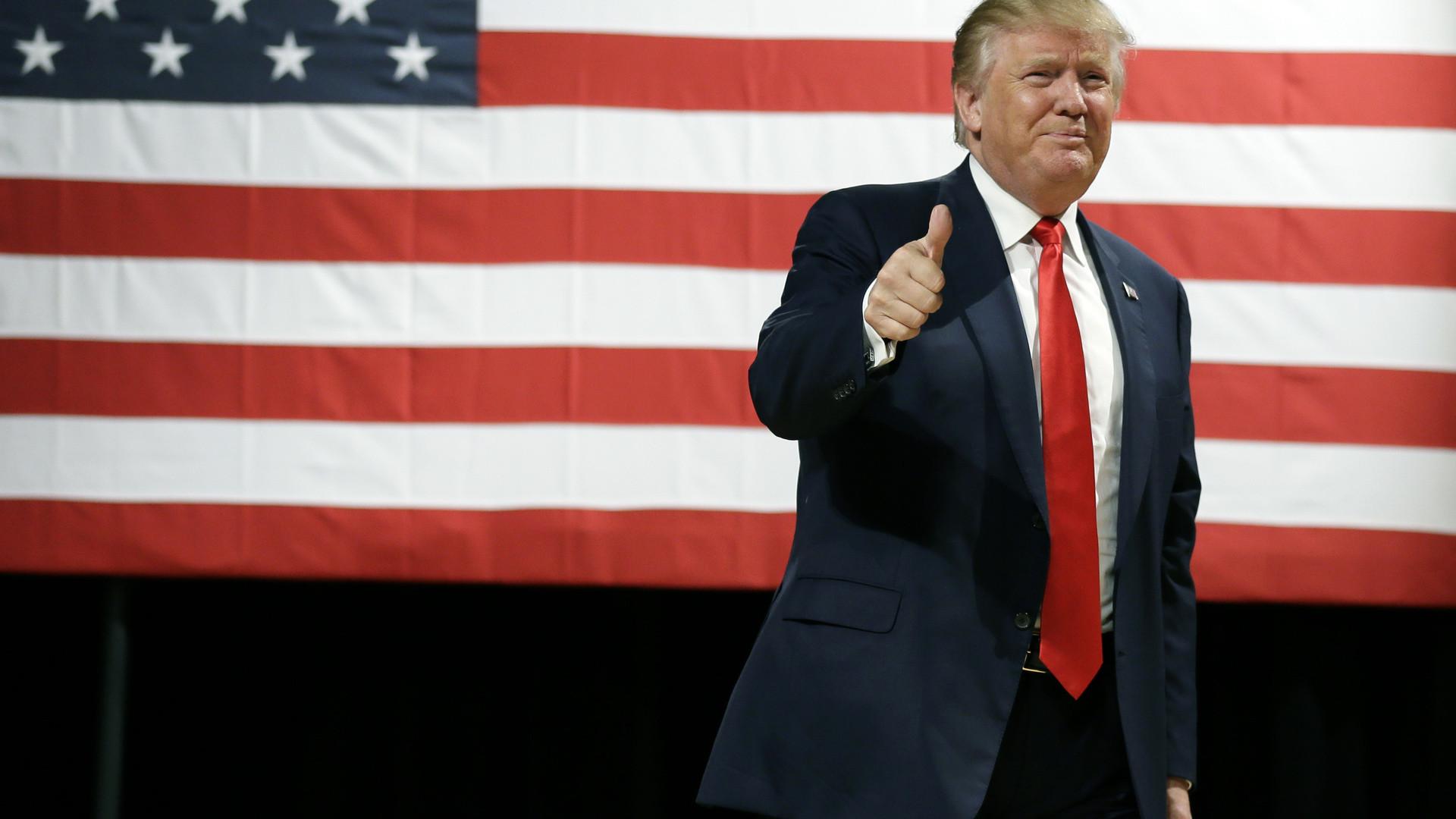 Donald Trump HD Wallpaper.
