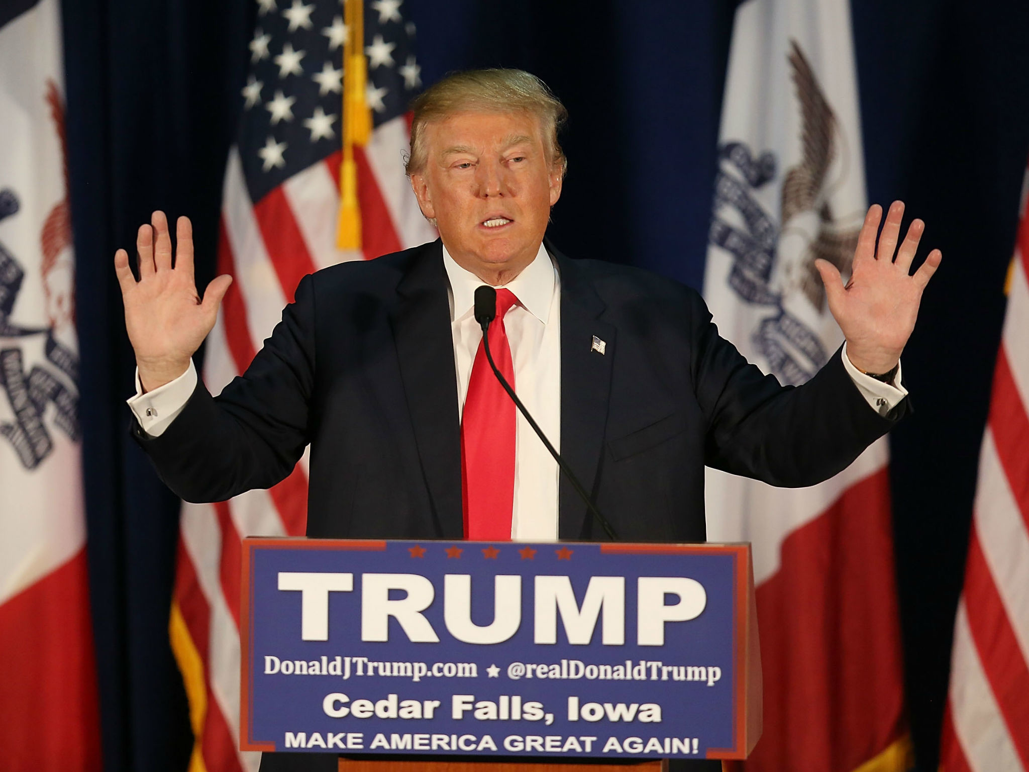 Donald Trump: GOP frontrunner calls sound technician 'son of a b***h' at  Florida rally | The Independent