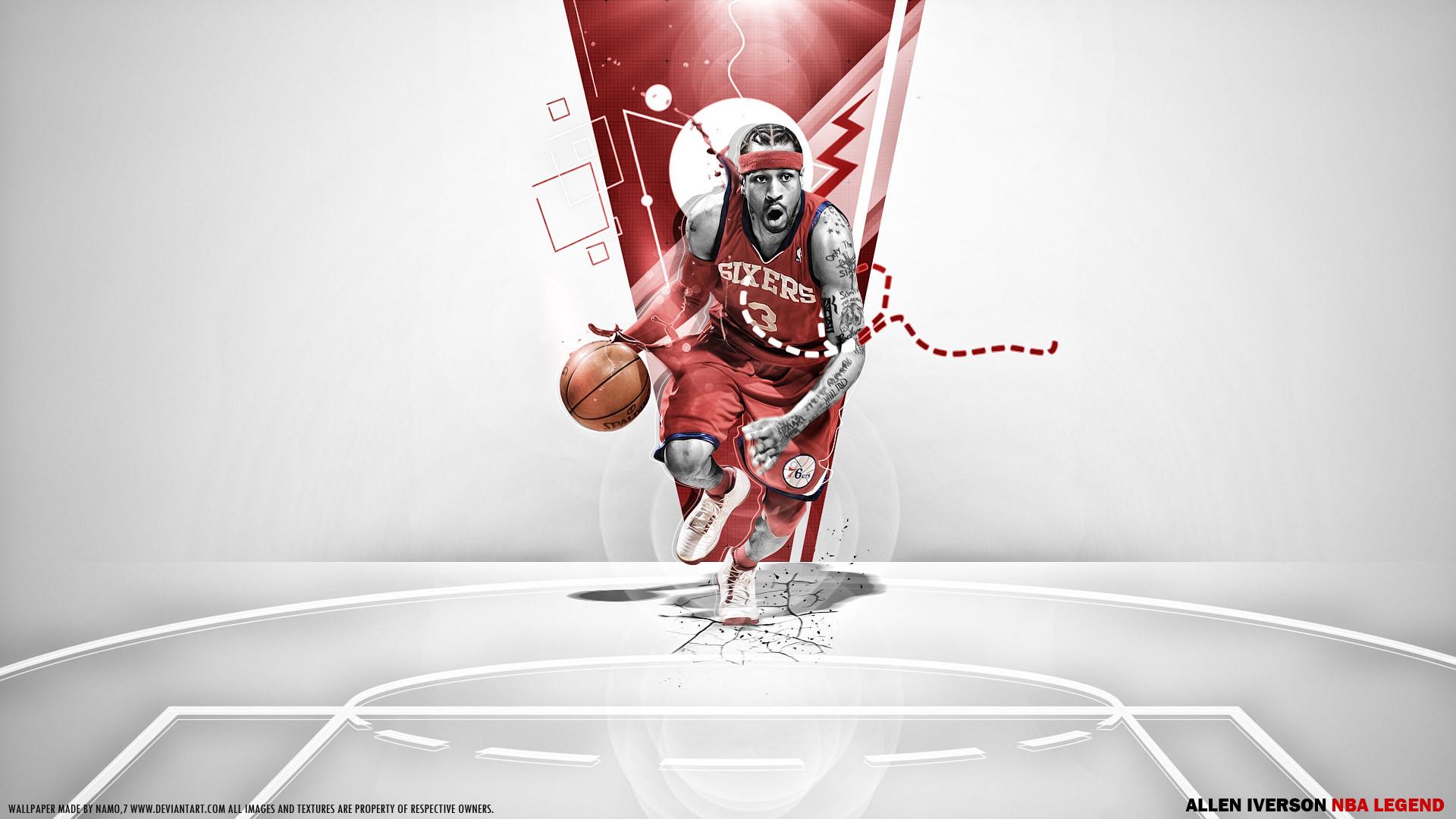 Allen Iverson 76ers Wallpaper