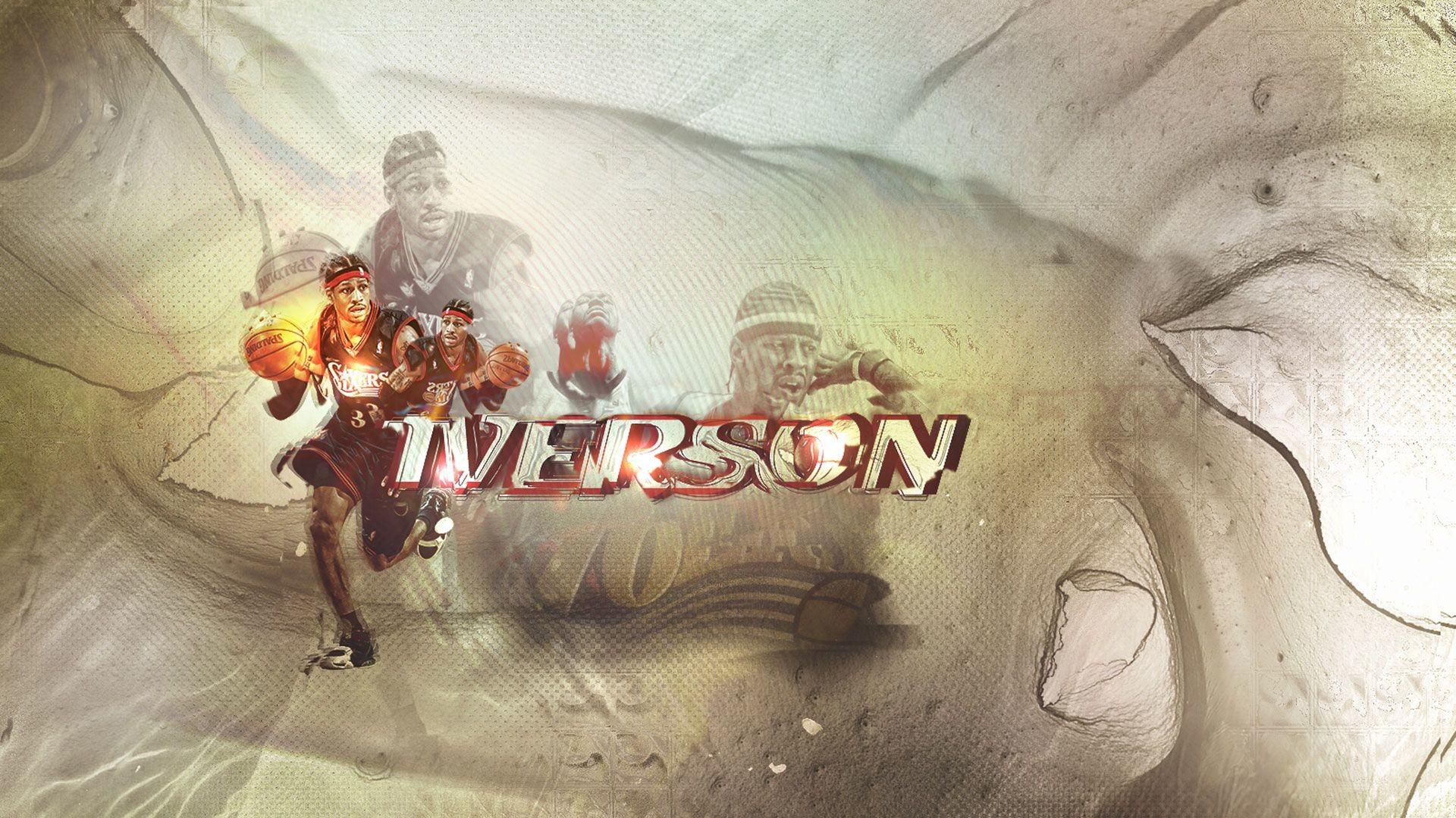 Allen Iverson 1080p Wallpaper https://wallpapers-and-backgrounds.net/
