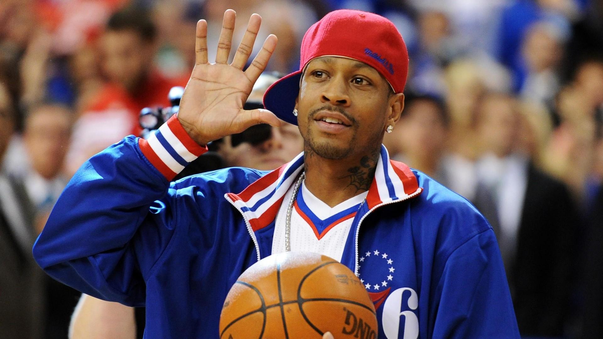 Wallpaper allen iverson, basketball, nba, philadelphia 76ers,  besiktas