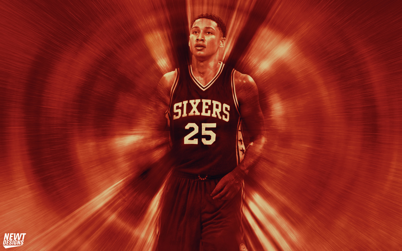 Ben Simmons 76ers Pick 1 Wallpaper