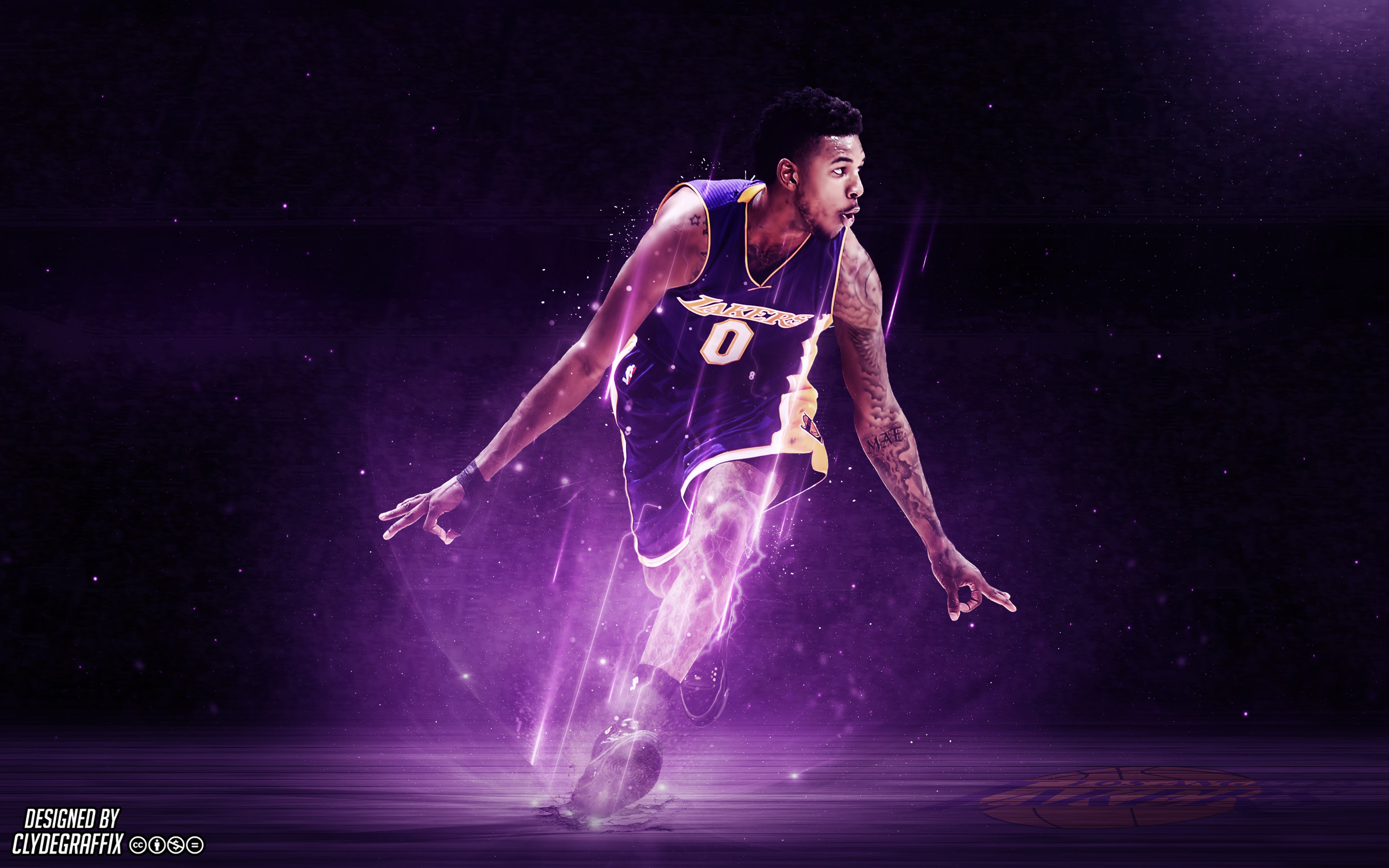 Made a Nick Young wallpaper I thought some of you might like!