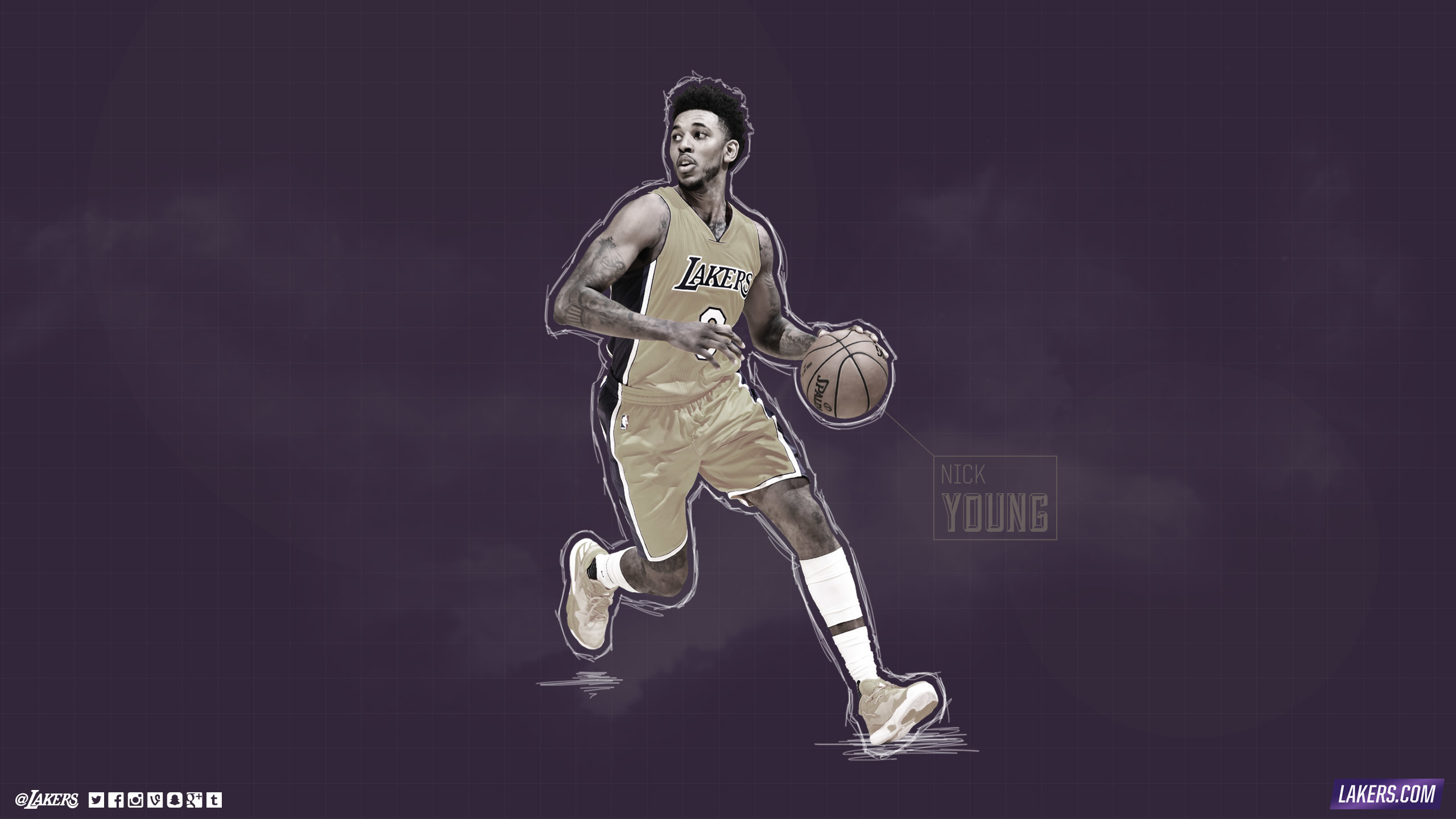 Nick Young Player Wallpaper. Nick Young