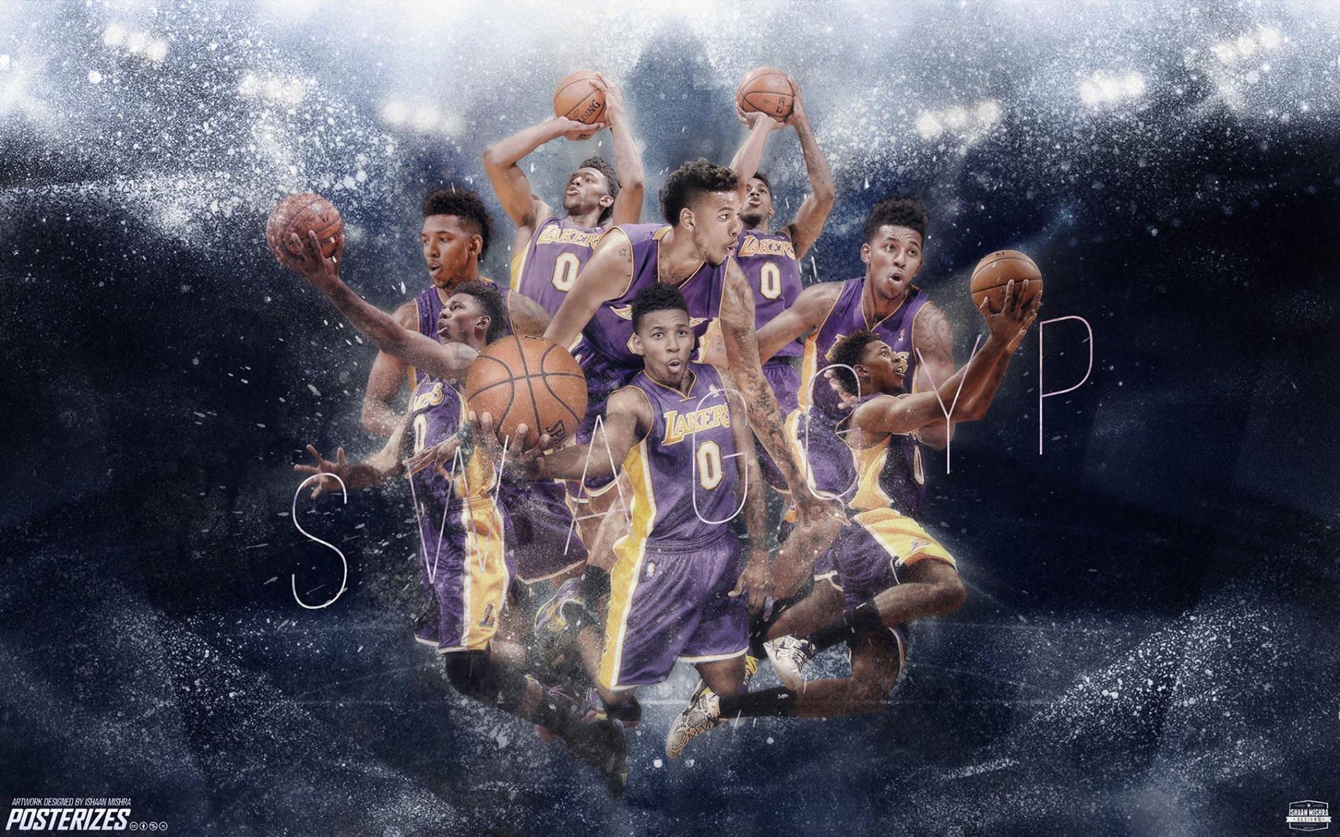 Nick Young LA Lakers 2014-2015 Wallpaper