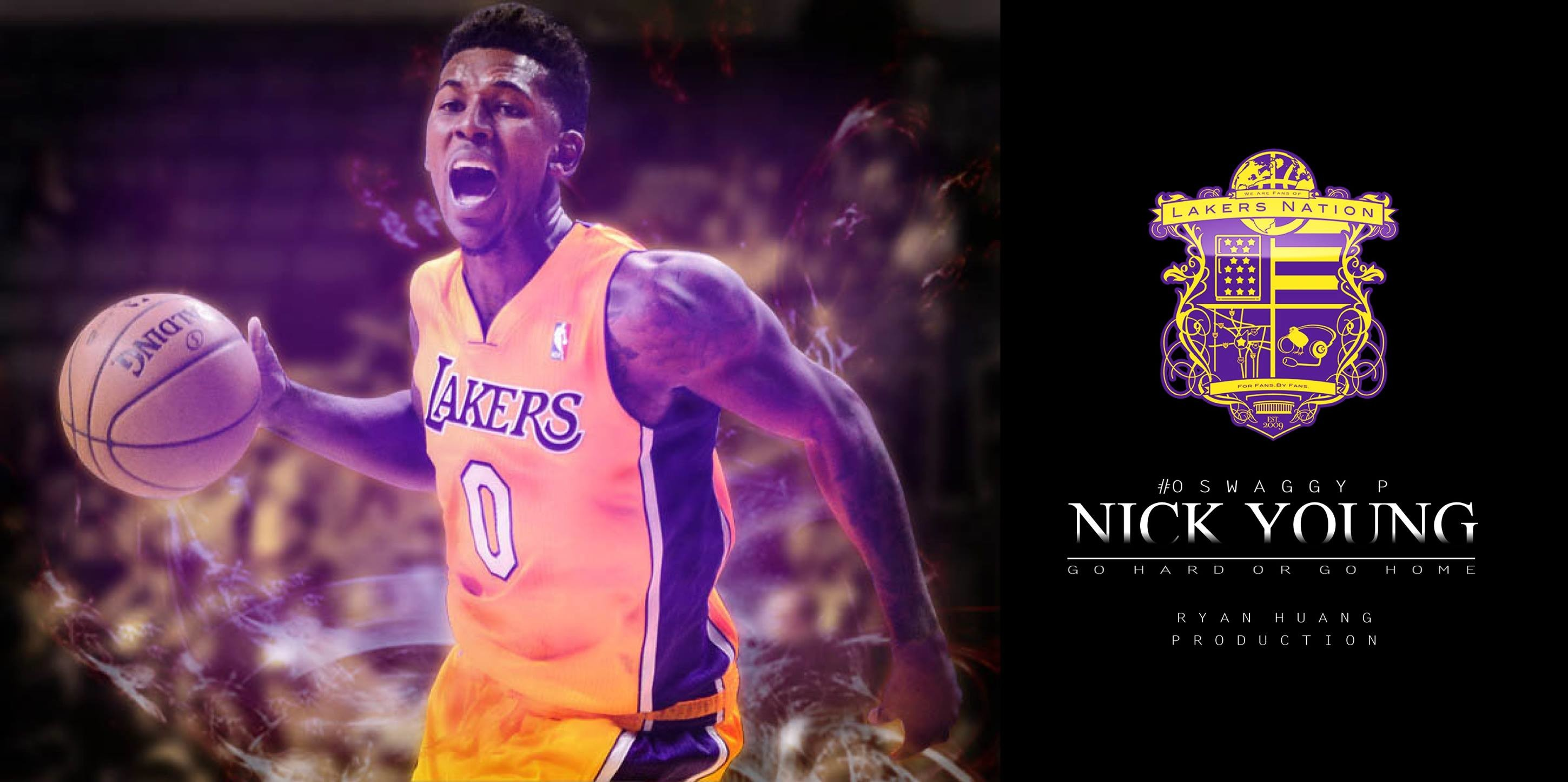 Nick Young Poster by RyanHuang7846 Nick Young Poster by RyanHuang7846