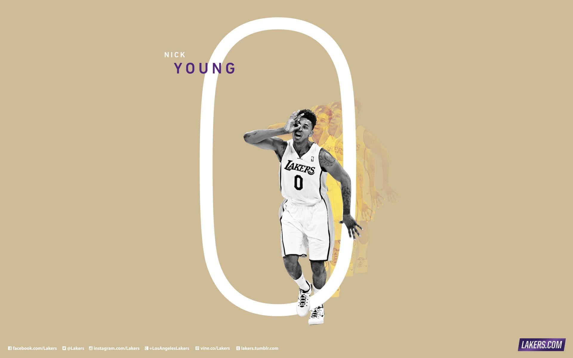 Nick Young 0 LA Lakers 2015 Wallpaper
