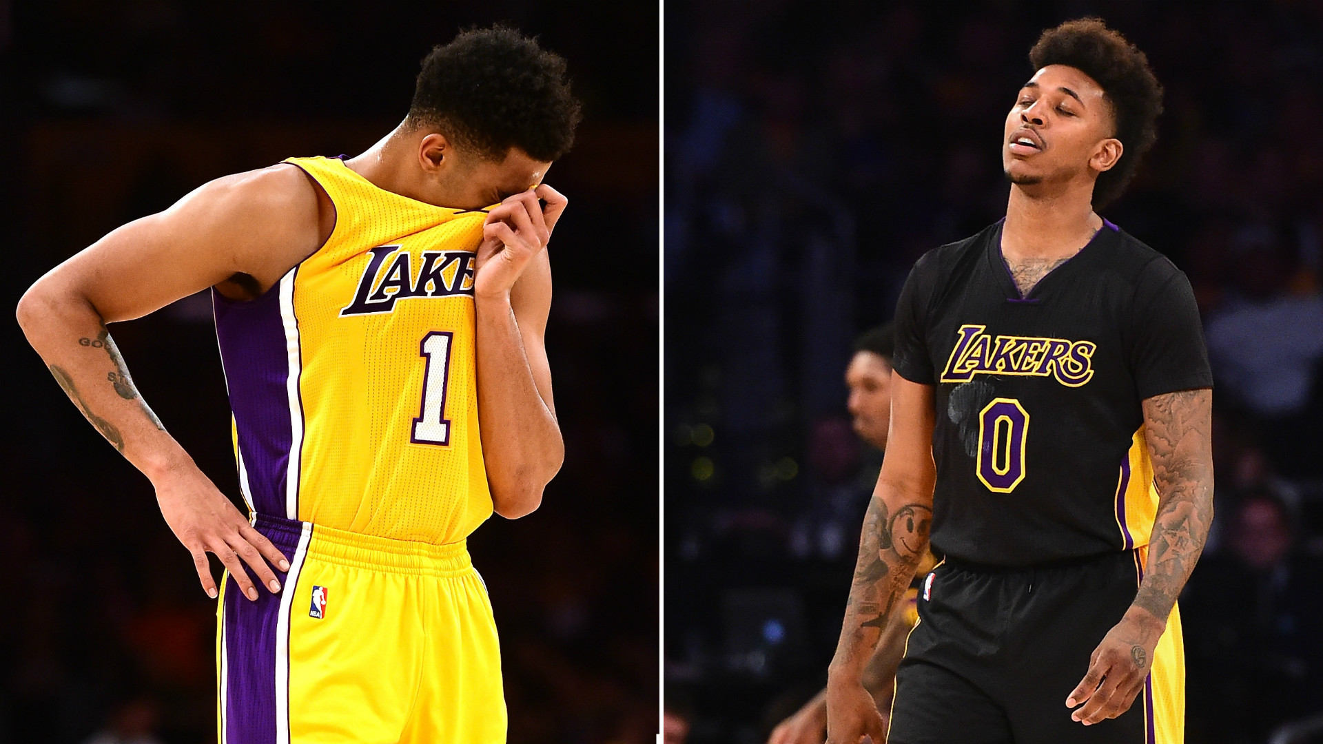 D'Angelo Russell exposes Nick Young's infidelity, then loses Lakers' trust    NBA   Sporting News