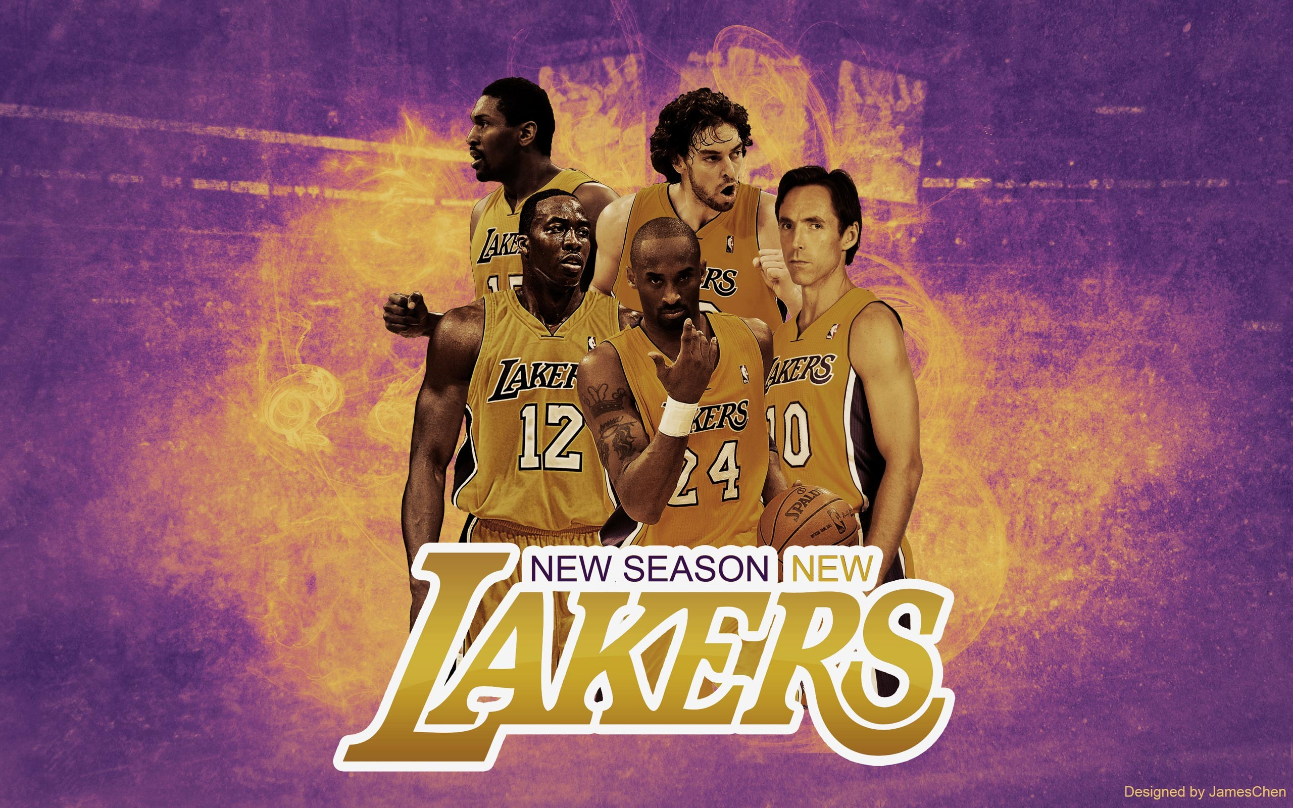 Lakers starting five!