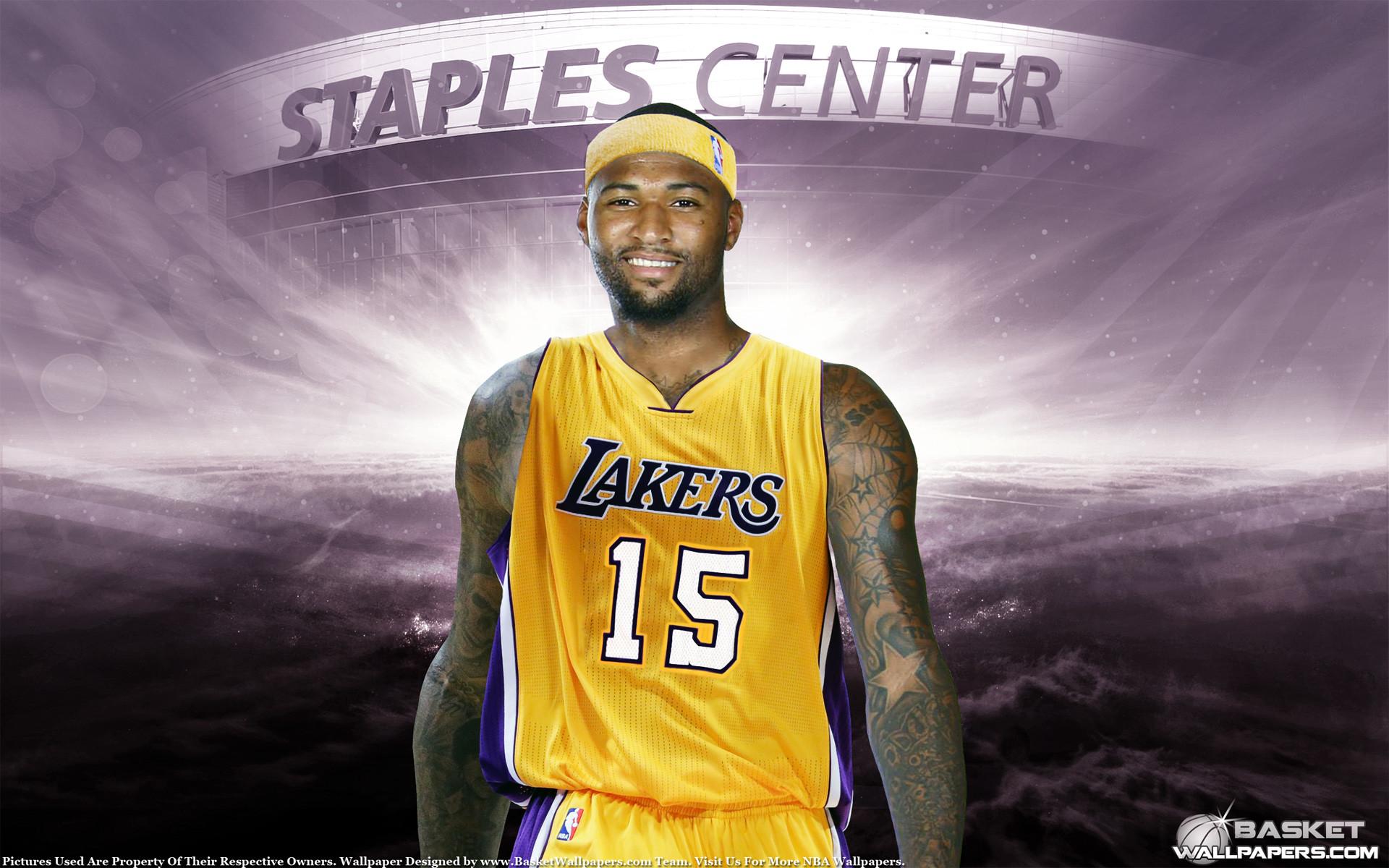 DeMarcus Cousins LA Lakers Wallpaper