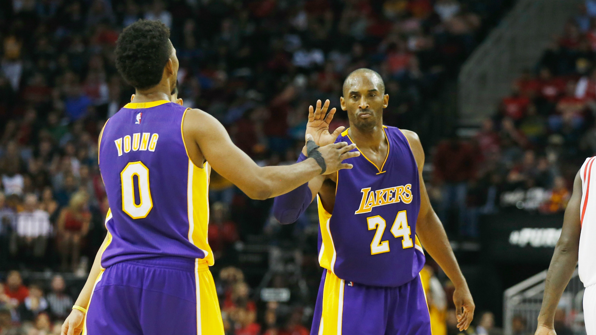 Kobe Bryant took over Lakers practice after Nick Young talked trash   NBA    Sporting News