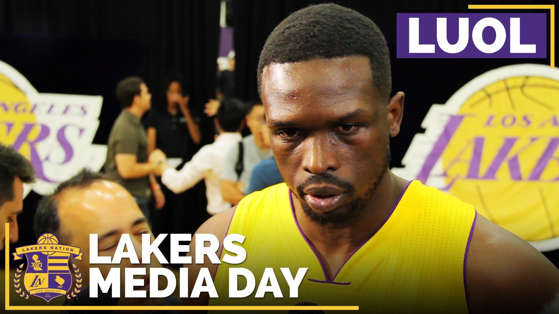 Lakers Media Day 2016: Luol Deng On Brandon Ingram, New Atmosphere – YouTube