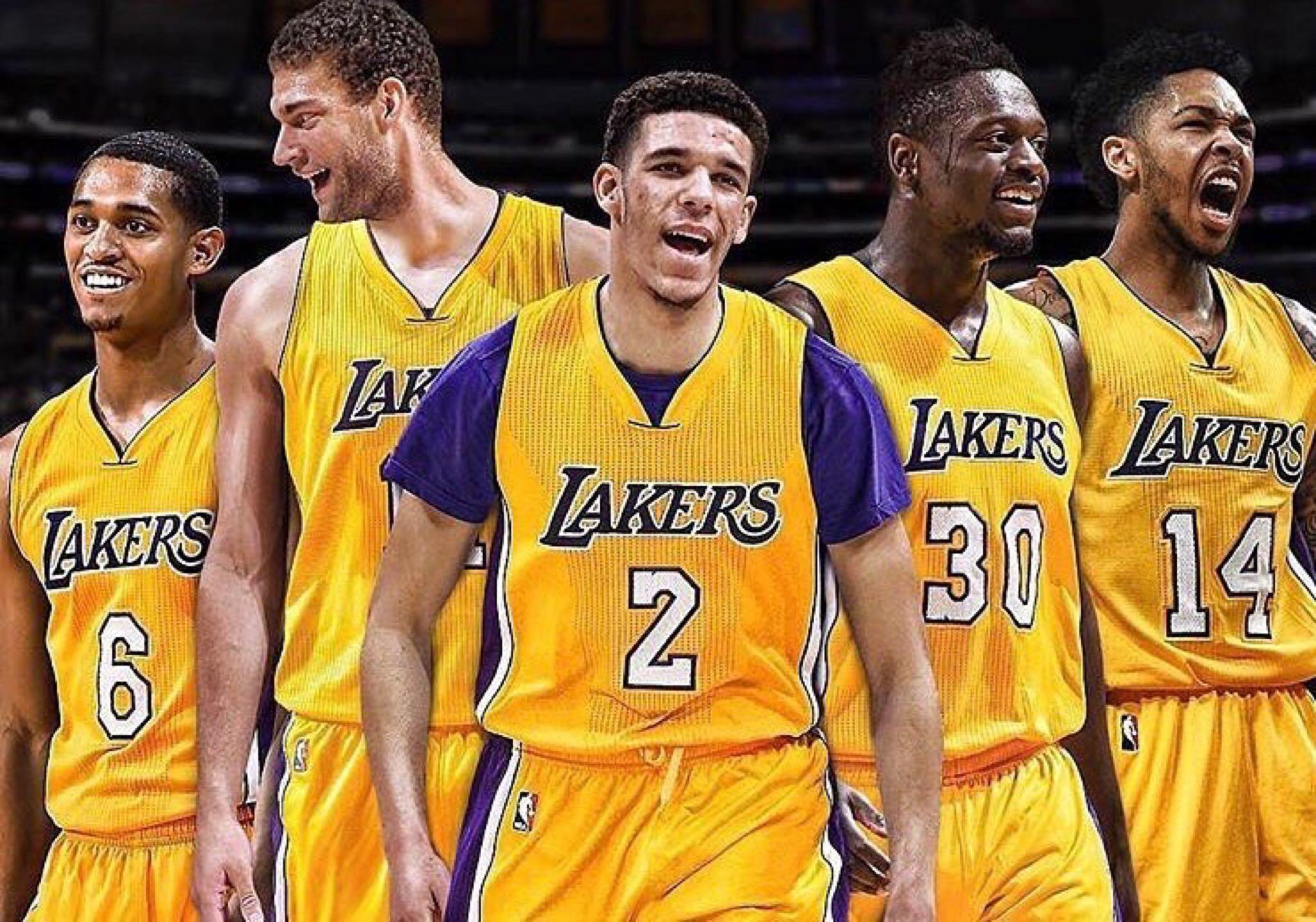 Your 2017-2018 LA Lakers …