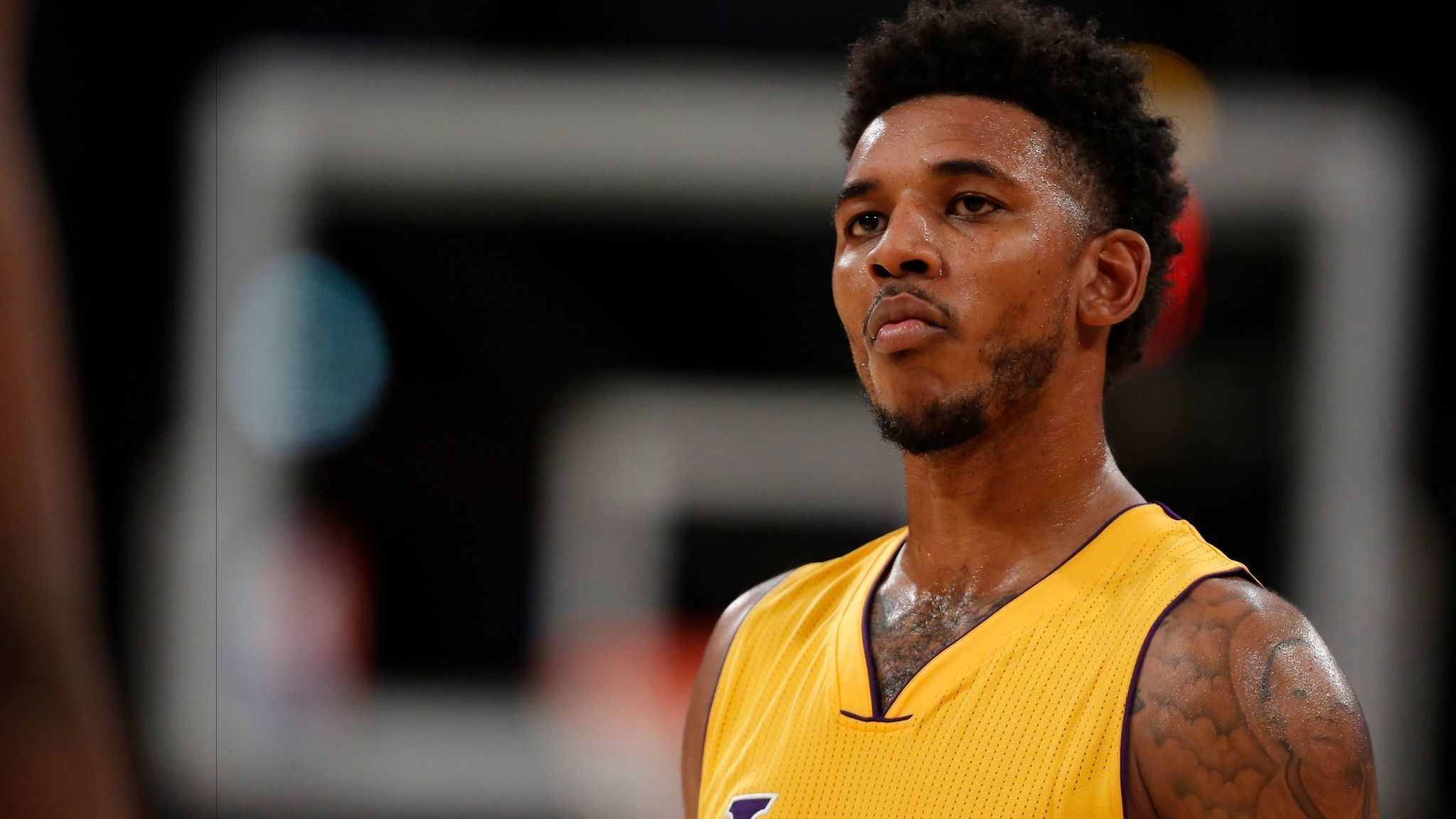 Nick Young's three with five seconds left lifts Lakers past Thunder,  111-109 – LA Times