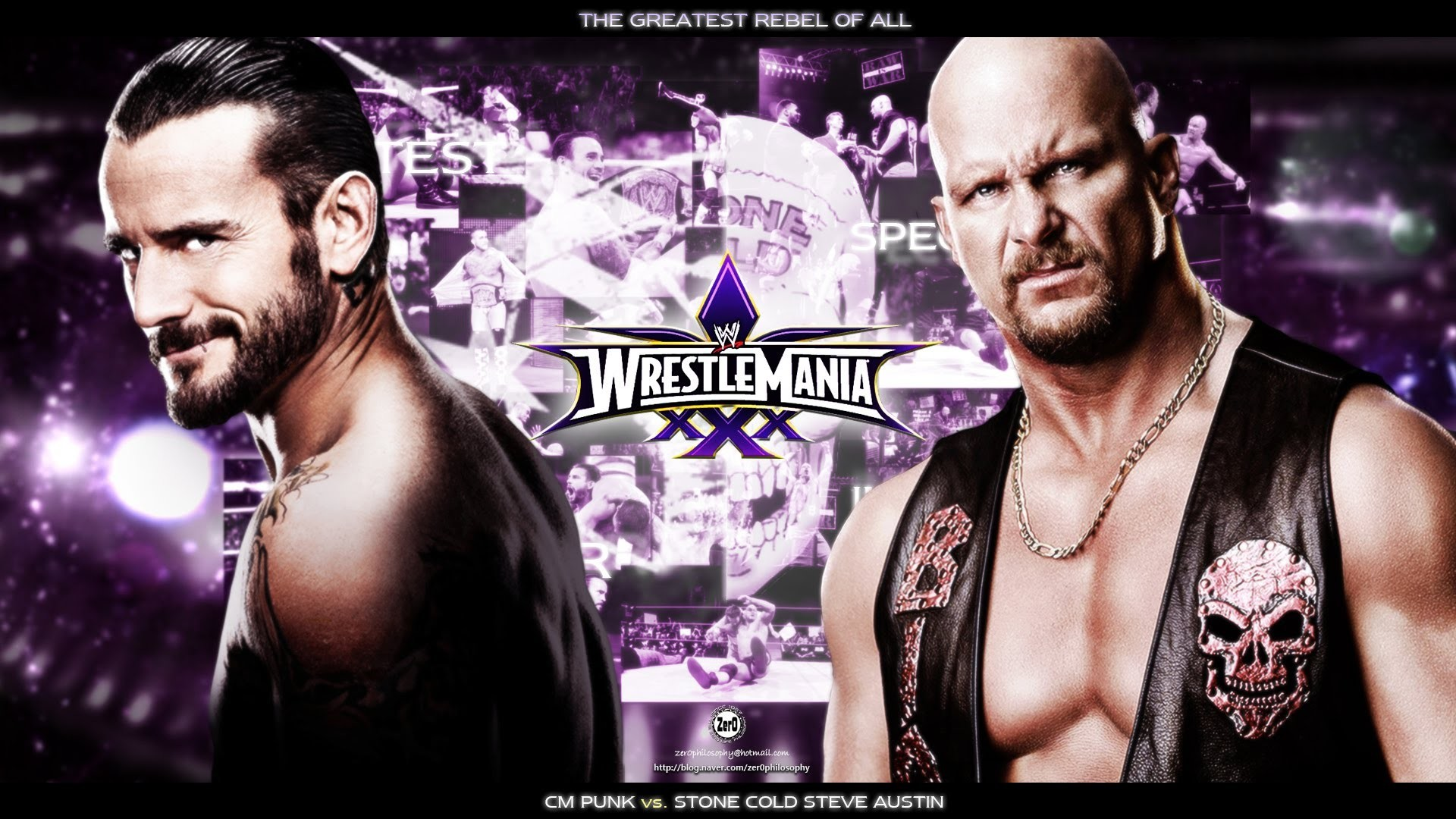WWE 13 WrestleMania 30 Cm Punk Vs Stone Cold Steve Austin Match Gameplay –  YouTube