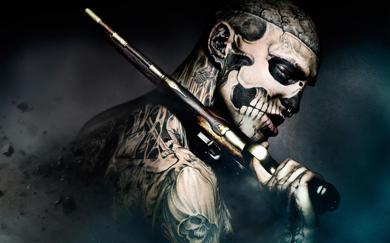 … Tattoo Men Wallpaper 9 Screensaver Tattoos Originals Zombie  Pictures.jpg …