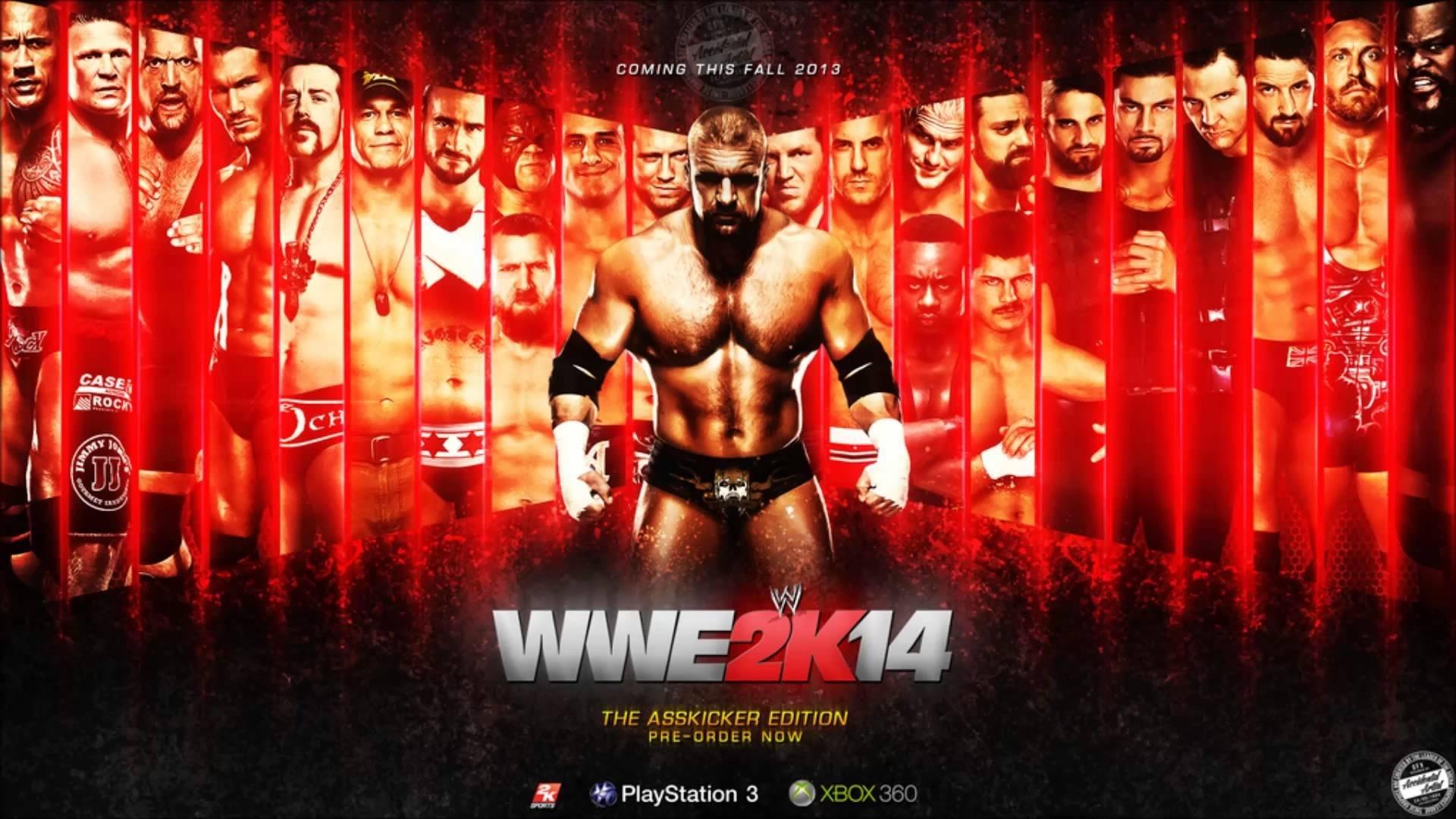 … wwe 2k14 wrestling fighting action warrior wallpaper …