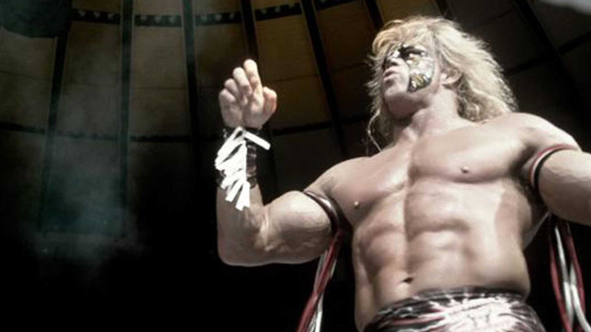The Ultimate Warrior WWE WWF professional wrestling