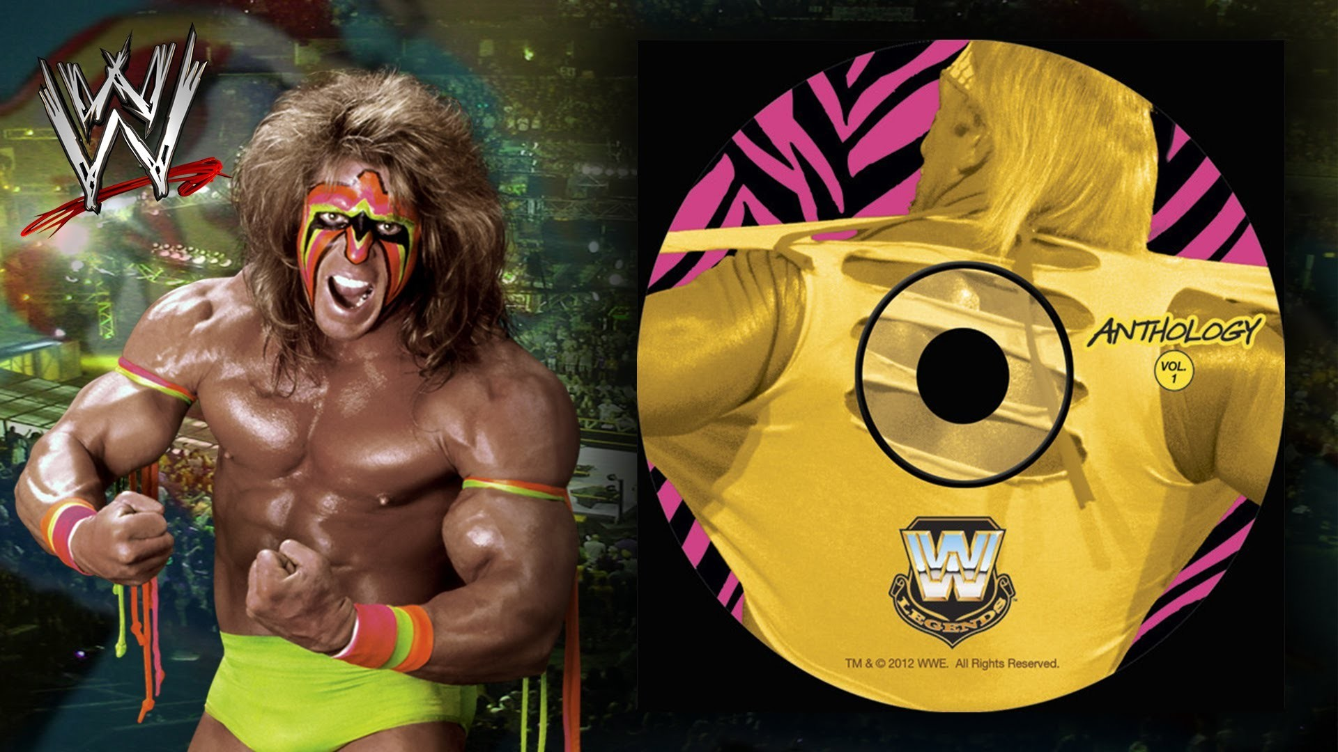 """WWE: """"Unstable"""" (Ultimate Warrior) Theme Song + AE (Arena Effect) – YouTube"""