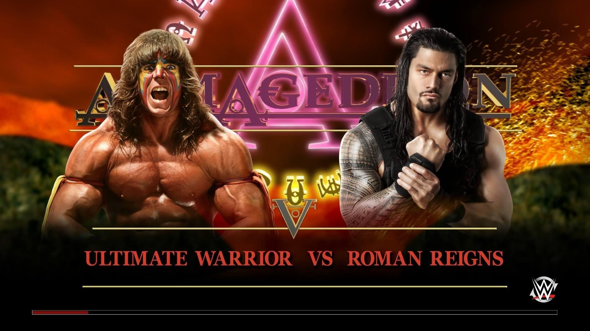 WWE 2K15 – Ultimate Warrior vs Roman Reigns