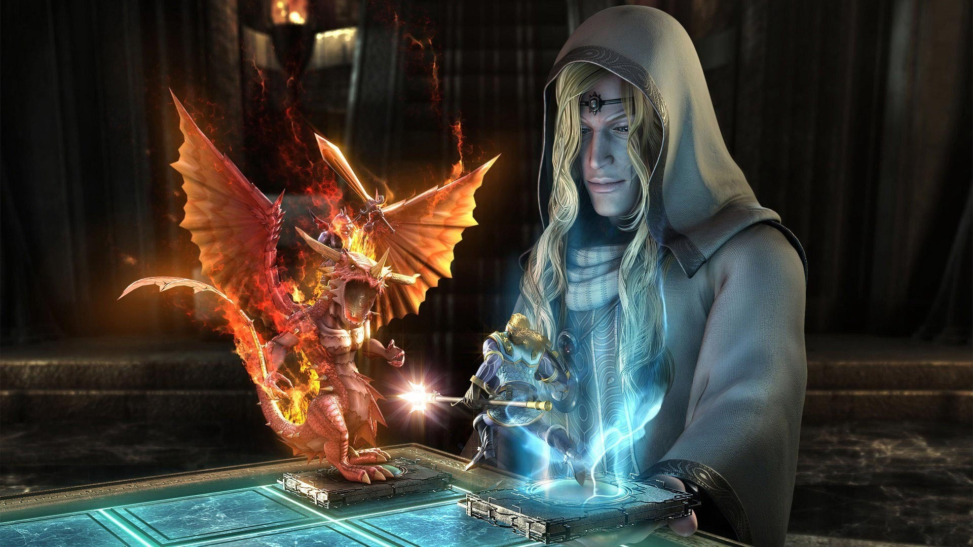 Dragon vs warrior wallpaper #811
