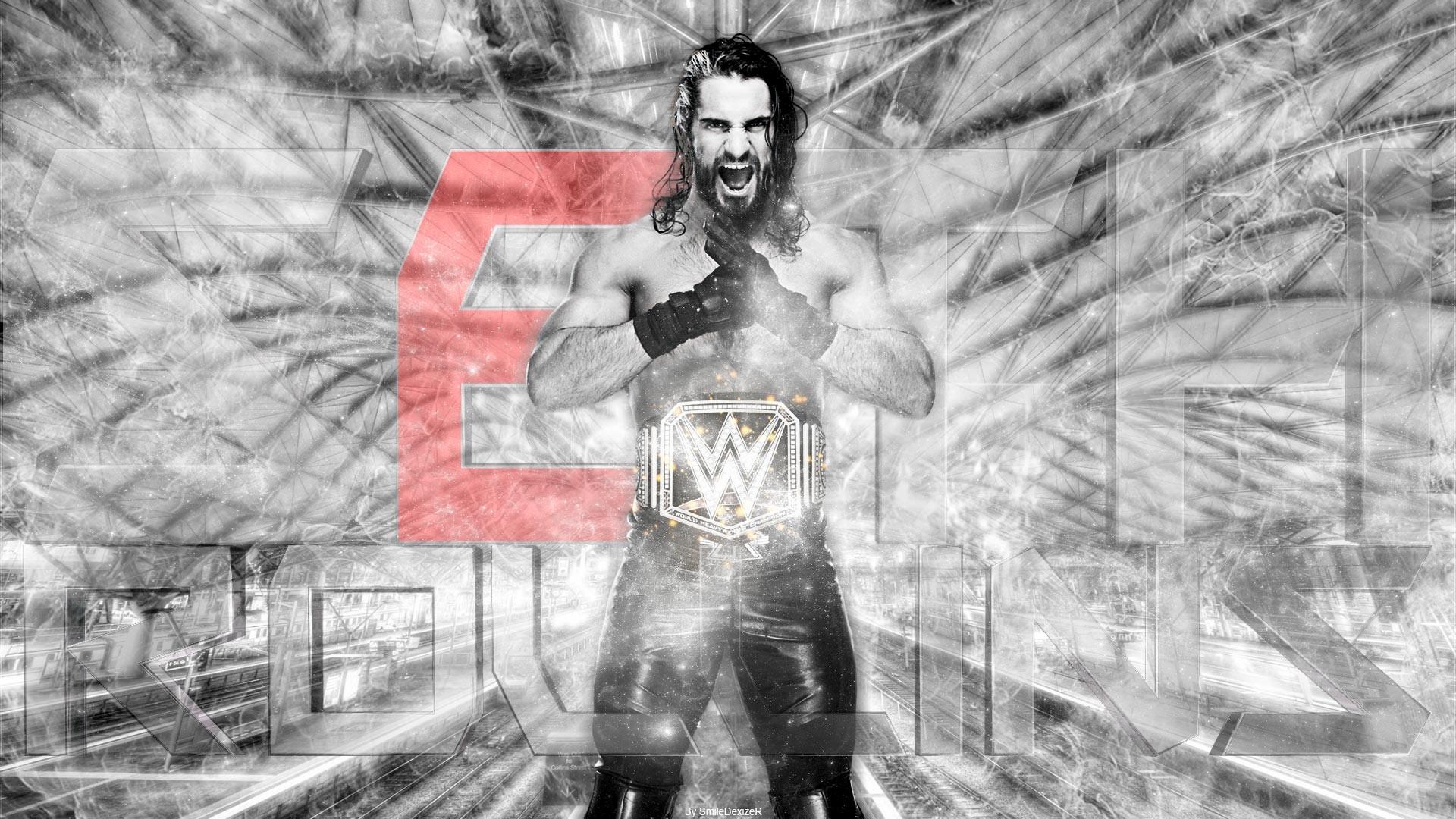 WWE Wrestling Seth Rollins Wallpaper 2015 by SmileDexizeR on .