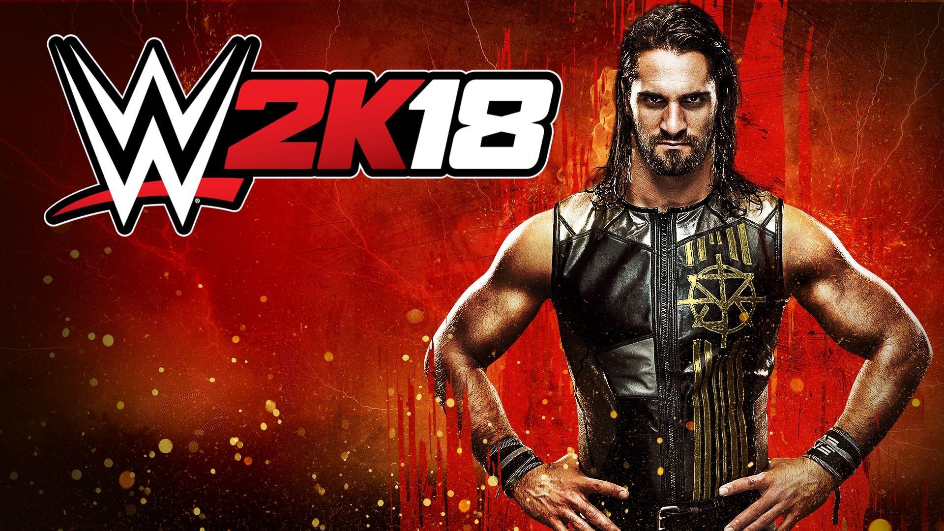 WWE2K18 Wallpaper Seth Rollins …
