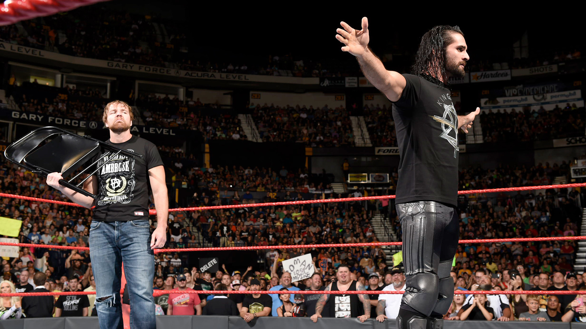 Don't let last week's unexpected rescue fool you: Dean Ambrose still isn't  down for a mini-Shield reunion with Seth Rollins.