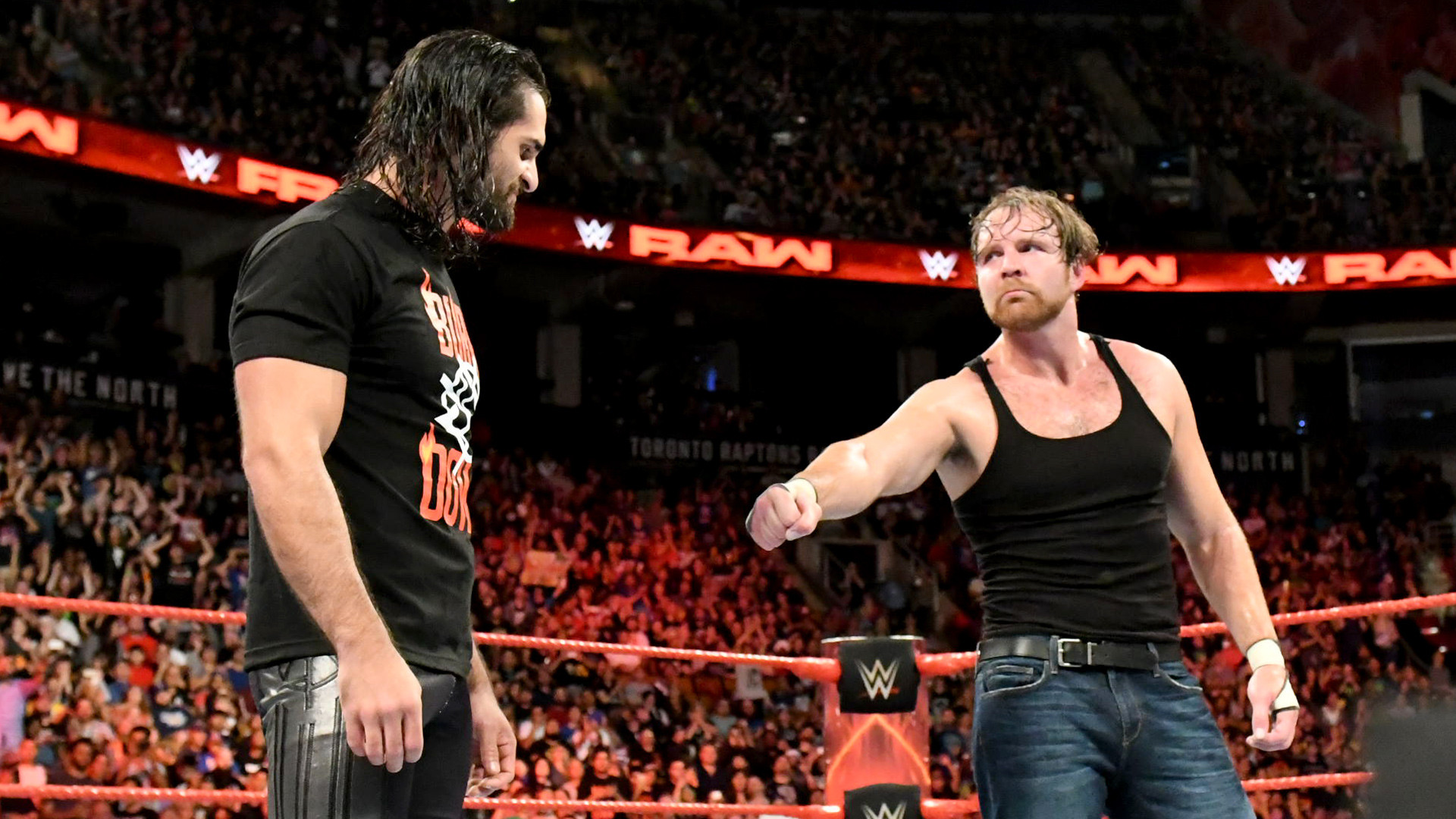 Seth Rollins Say what you will about Dean Ambrose; the man keeps his  promises.