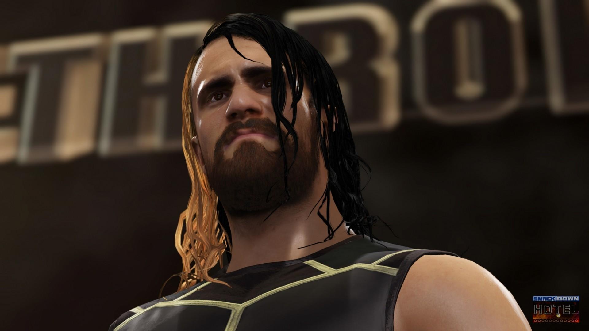 … WWE2K16 SethRollins