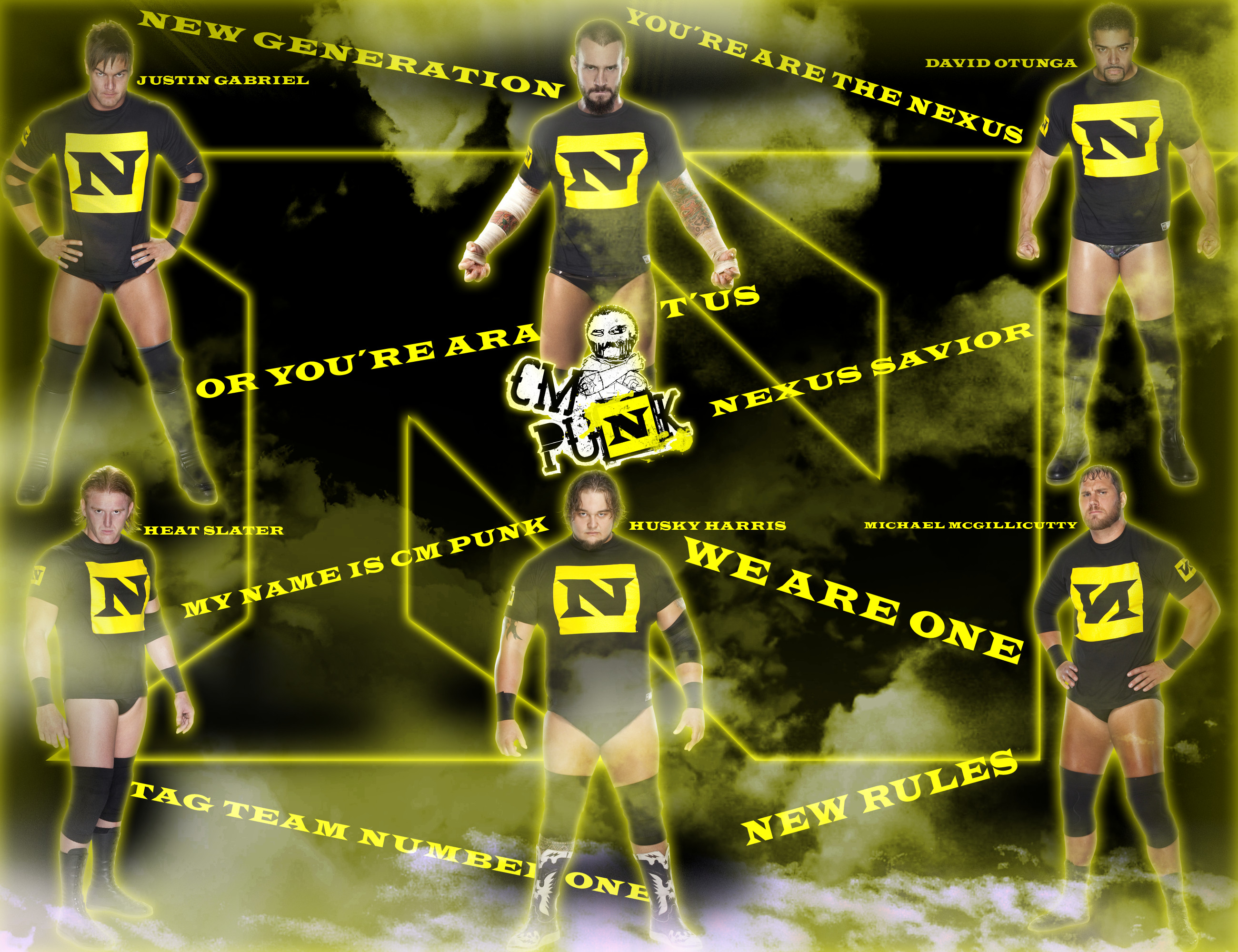 … DecadeofSmackdownV3 Cm Punk new leader The nexus by DecadeofSmackdownV3