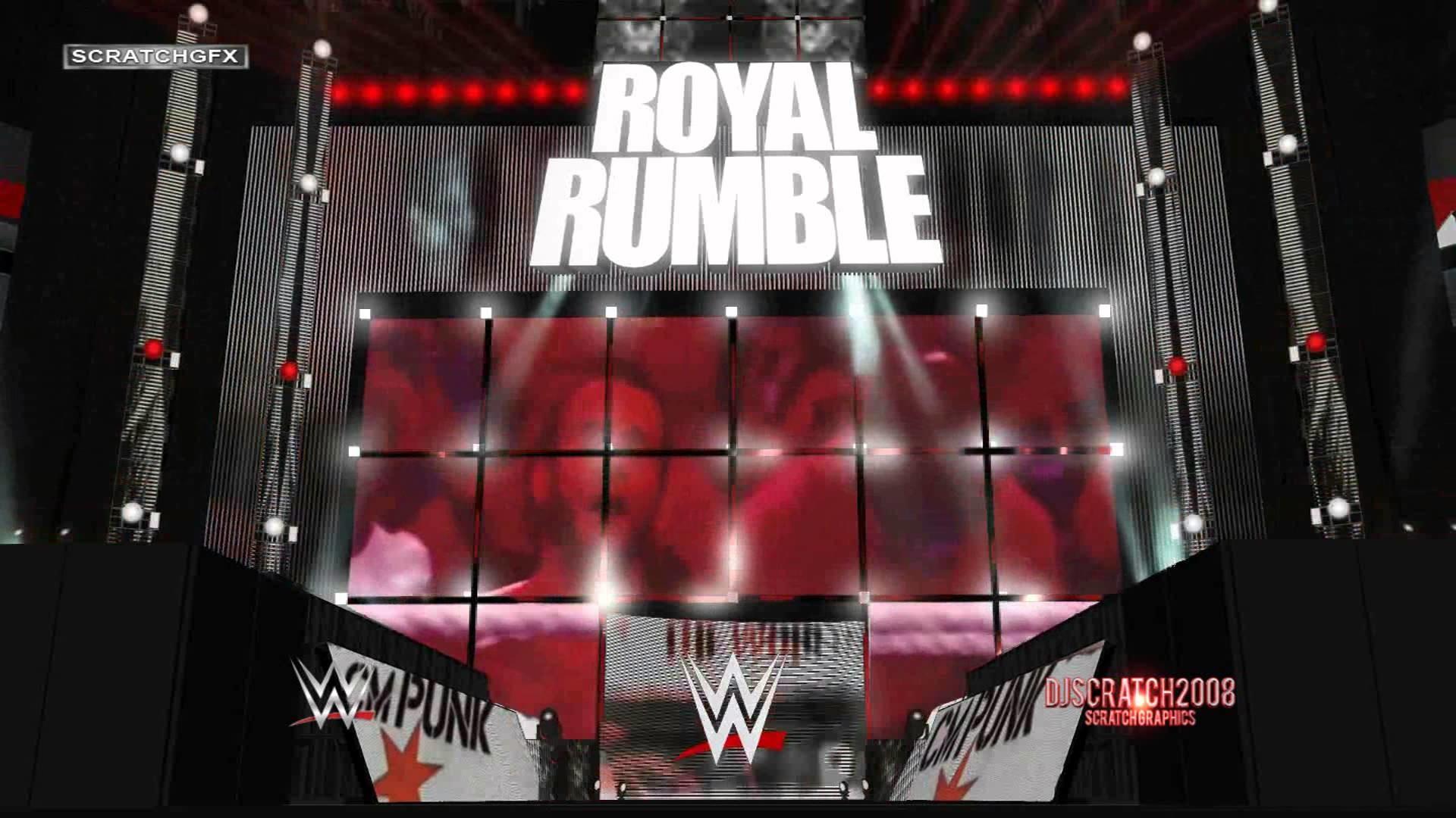 WWE ROYAL RUMBLE 2015 – CM PUNK RETURNS