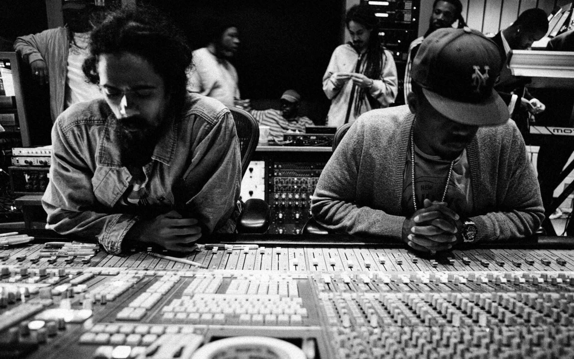 Nas & Damian Marley desktop PC and Mac wallpaper