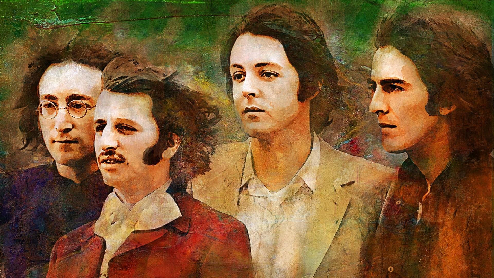 Preview wallpaper the beatles, john lennon, paul mccartney, george  harrison, ringo starr